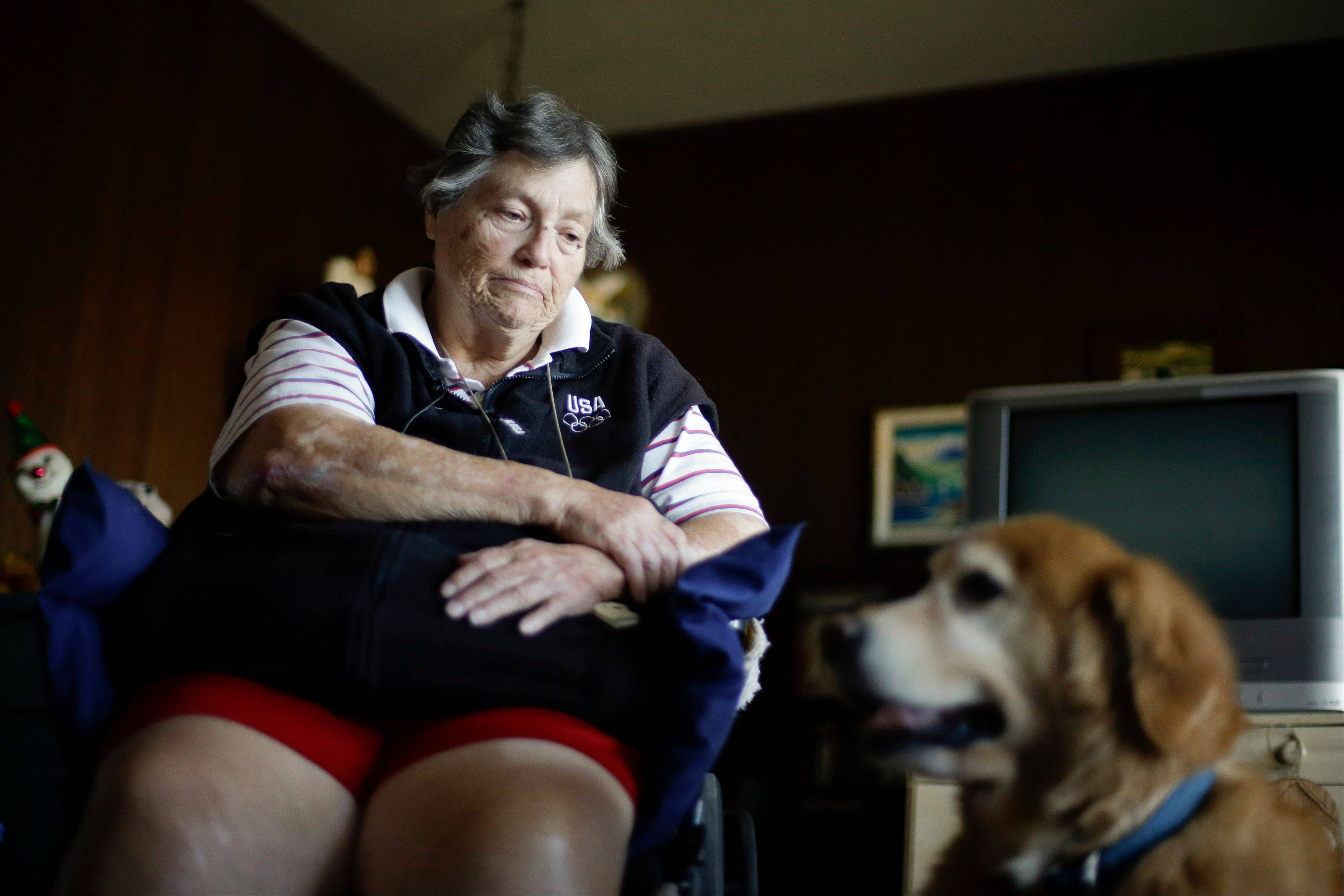 Sherry Scott, who receives dog food for her 10-year-old golden retriever Tootie through the Animeals program, said she would give her lasagna and pork riblets from Meals on Wheels to Tootie if MOW didn�t bring dog food for the dog.