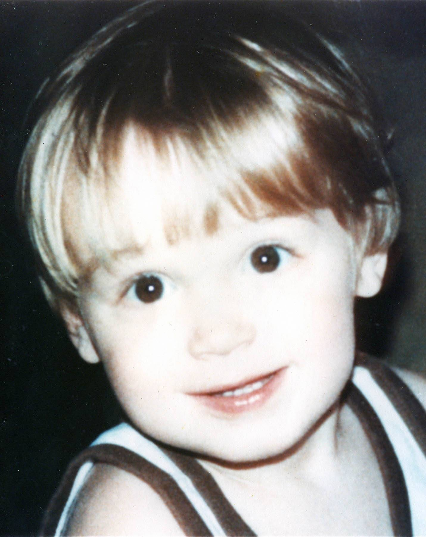 "Gregory J. Hopkinson, ""G.J."", at age 2. Hopkinson, a 19-year-old Glendale Heights man, overdosed on heroin on January 19, 2002."
