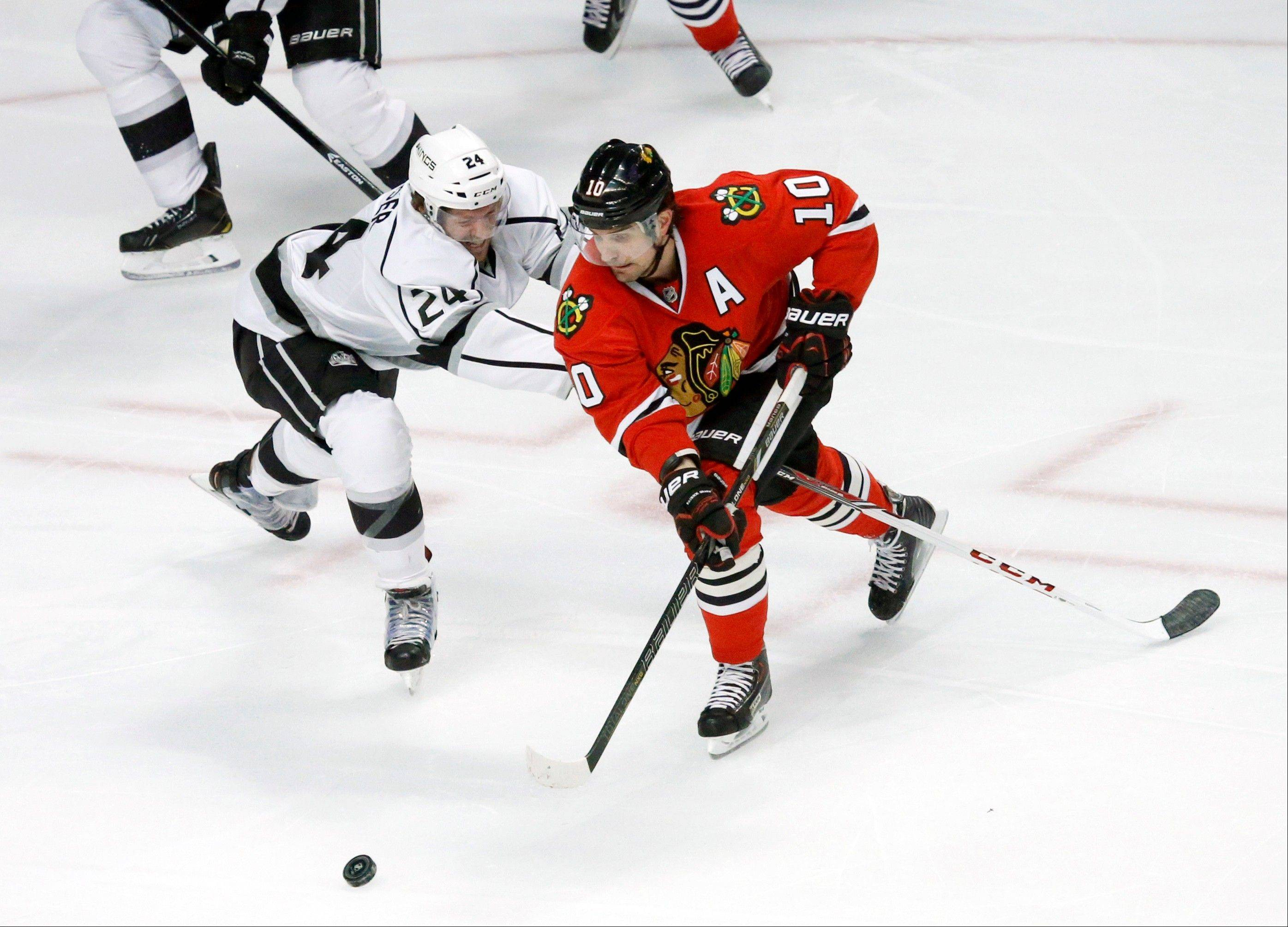 Patrick Sharp is a consistently reliable leader on a star-studded Blackhawks roster that is playing at a historic pace.