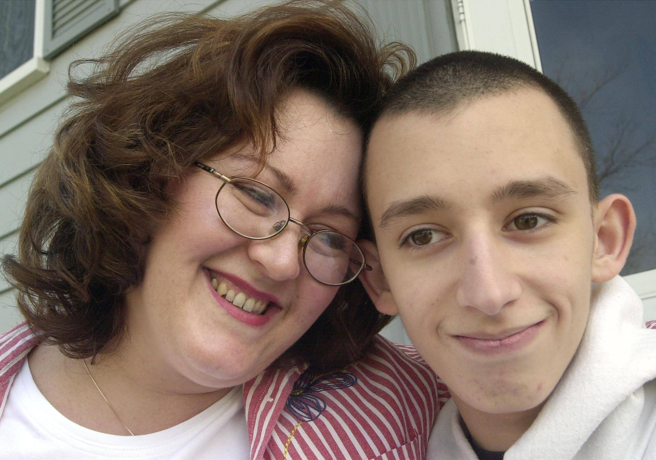 Theresa Blasucci and her son, Nick, of Glendale Heights.