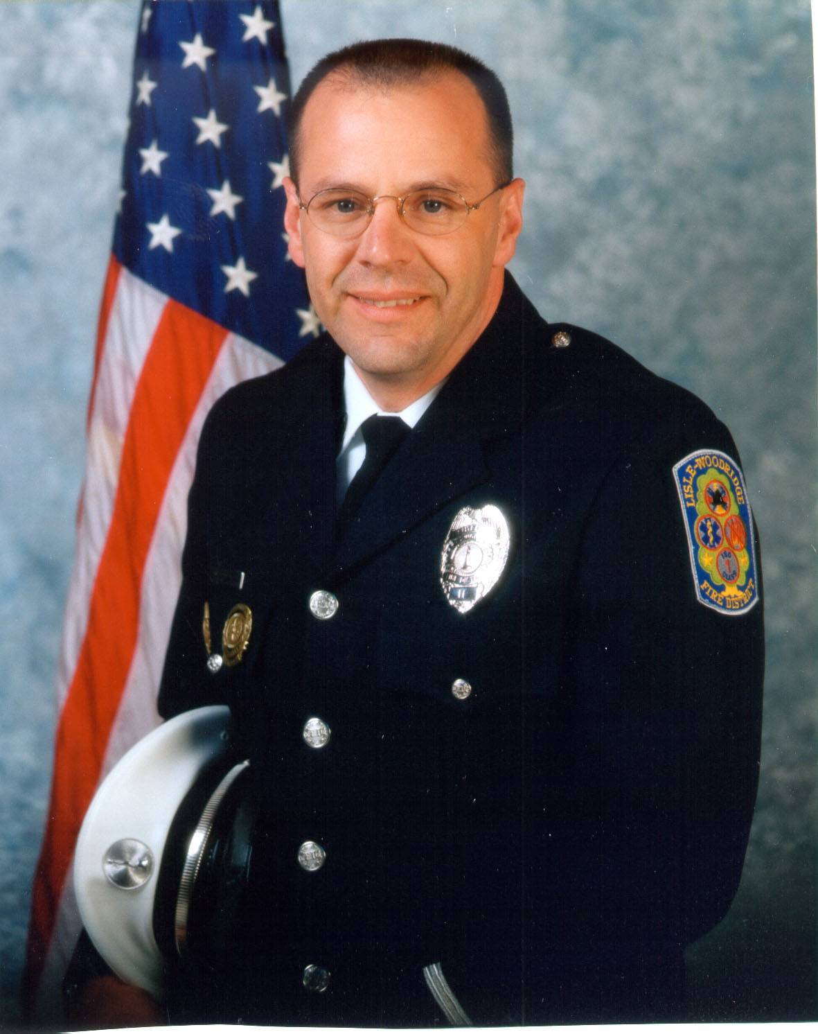 This is Keith Stegman, a Lisle-Woodridge Fire District EMT.