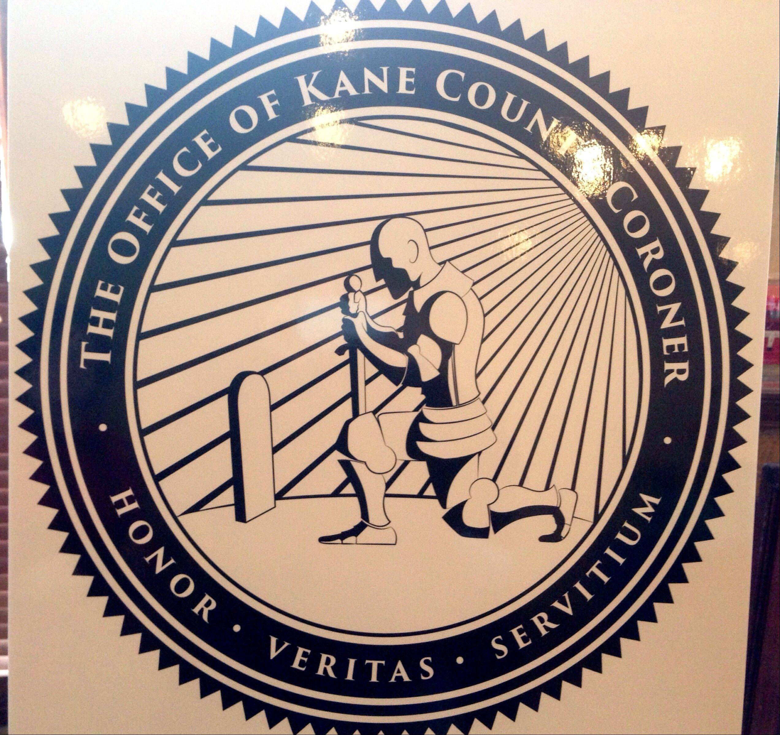 The Kane County Coroner's office unveiled a new logo Thursday designed to create better understanding of the office's mission.