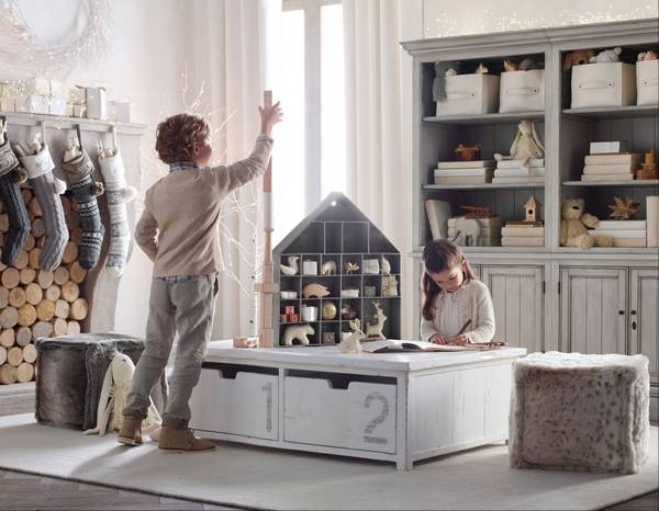 Restoration Hardware Baby Child S Weller And Mason Play Table Offers A Modern Take On