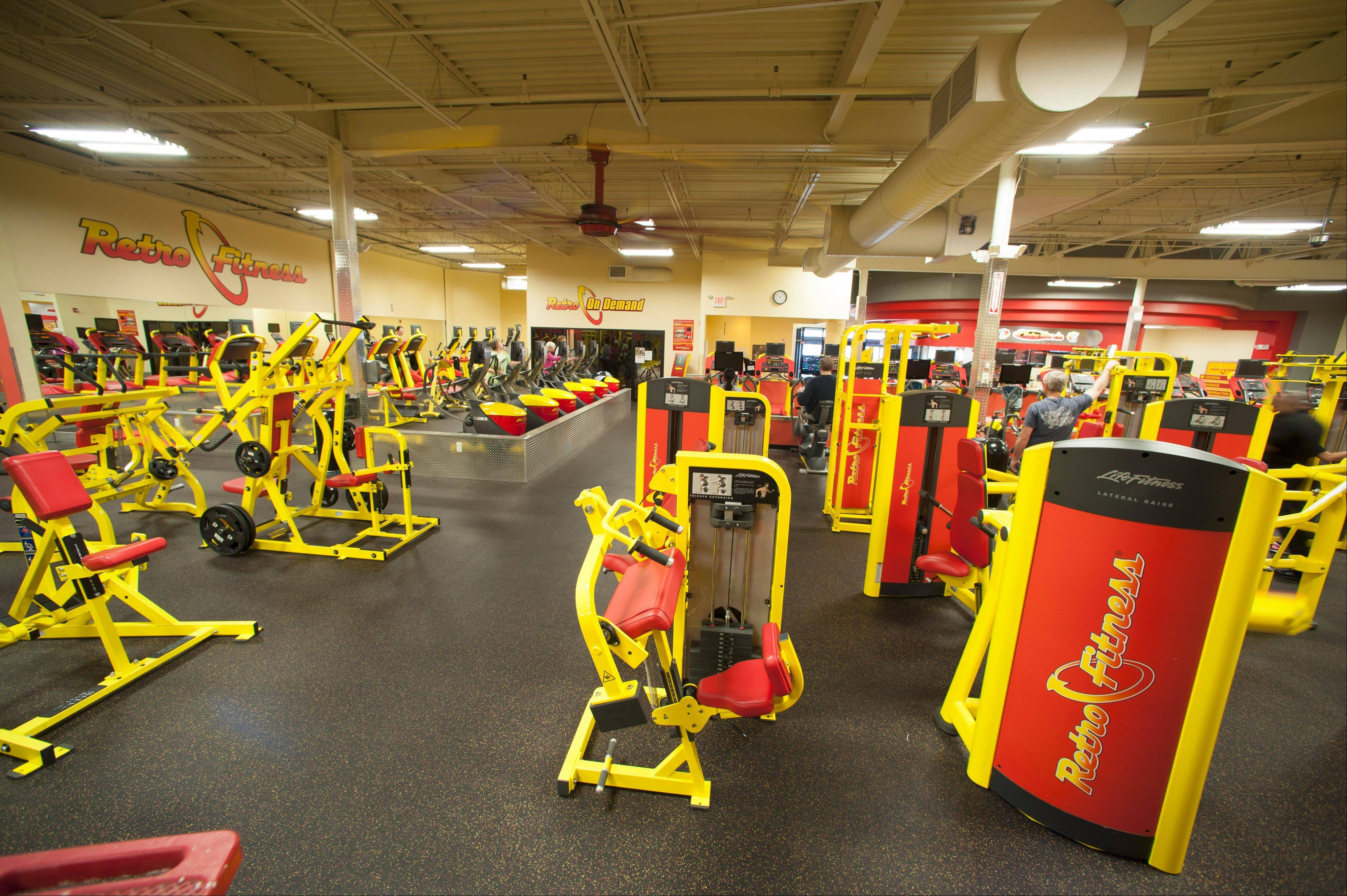 Eric Casaburi, the chief executive of Retro Fitness, says he's been targeting the Chicago market for some time and opening a facility in Carol Stream is the first step in establishing the company's name here.