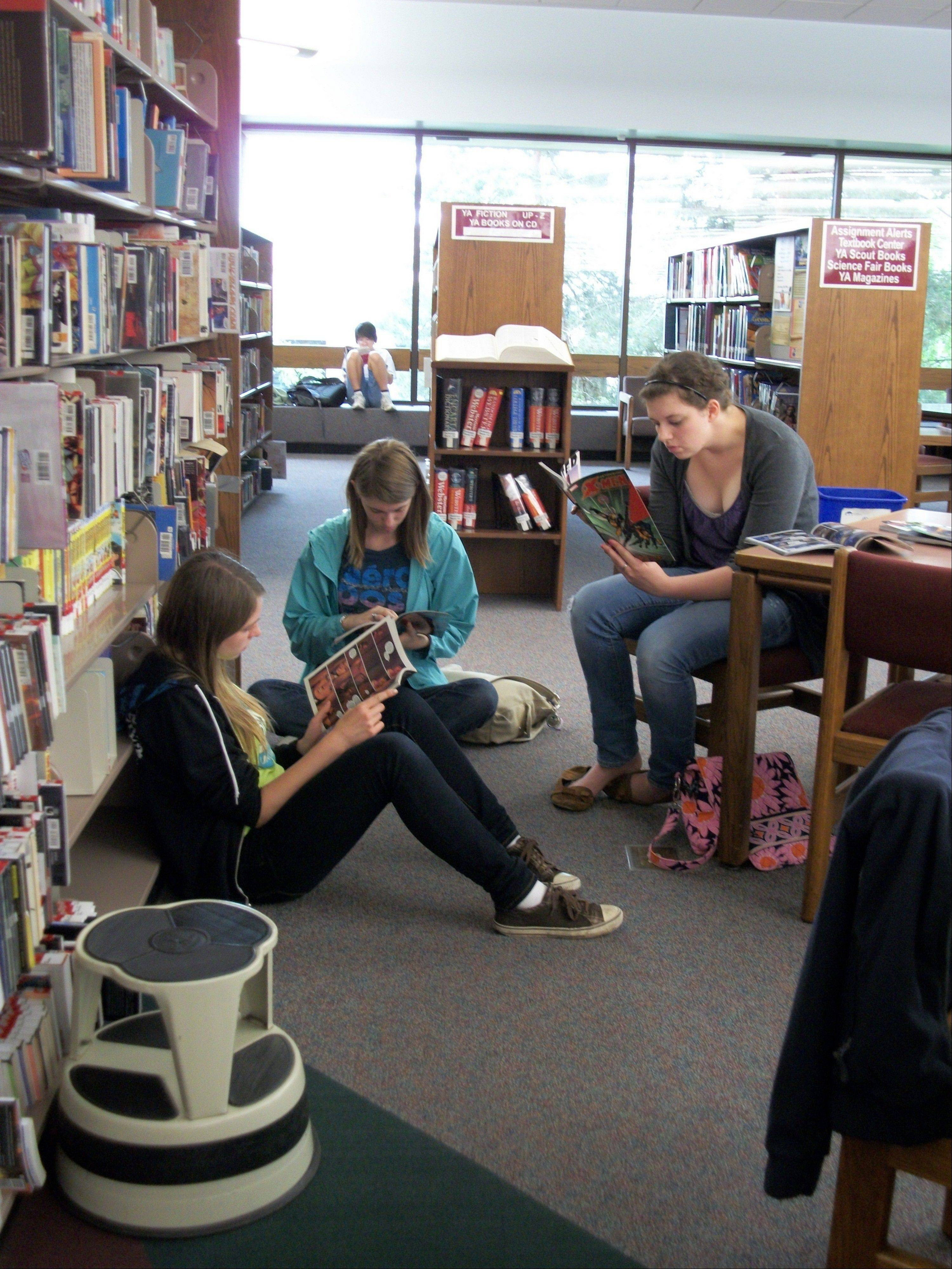 Naperville's downtown Nichols Library will offer extended Sunday hours beginning Jan. 5 and continuing through May 18, officials said this week. The extended hours then will resume Sept. 7.