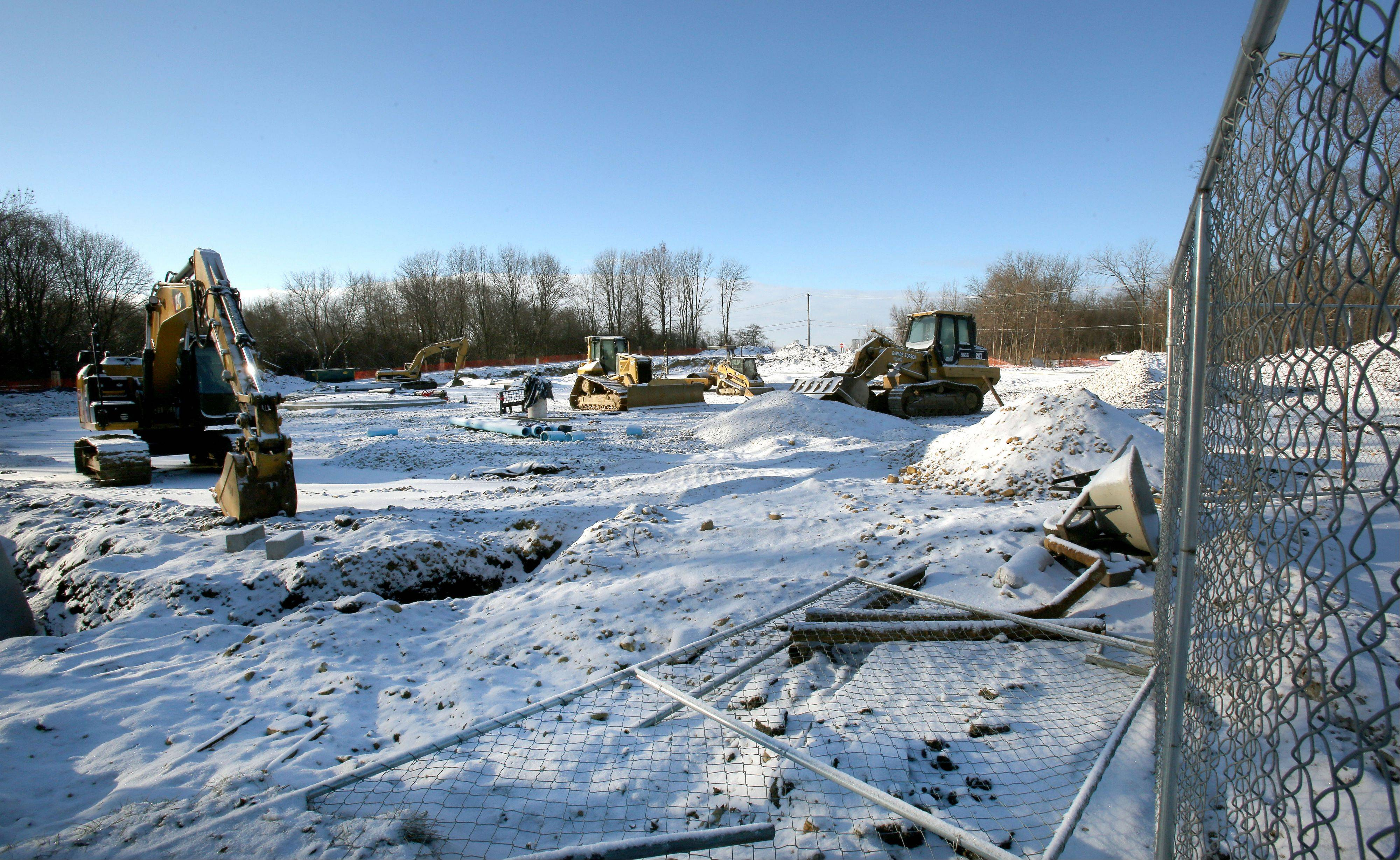 Work has begun to construct a larger parking lot at Willowbrook Wildlife Center in Glen Ellyn. The nearly $1.7 million project is expected to be completed in the spring.