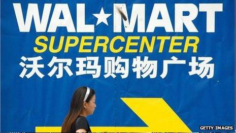 "Wal-Mart Stores Inc. says it's considering taking legal action against ""responsible parties"" after DNA testing showed traces of fox meat in the donkey meat it sold in China."