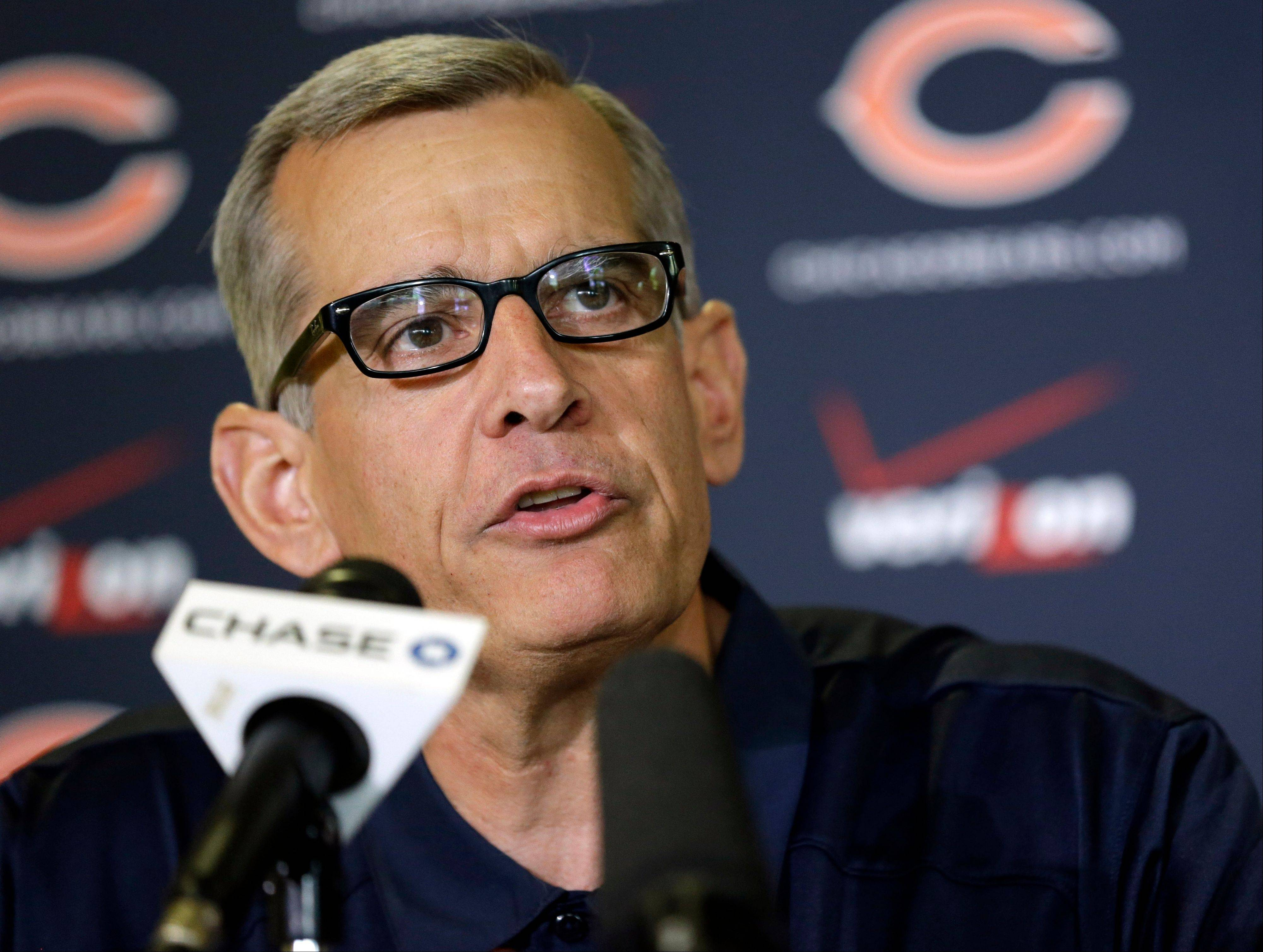 Bears general manager Phil Emery must be very good at making people feel good about themselves.
