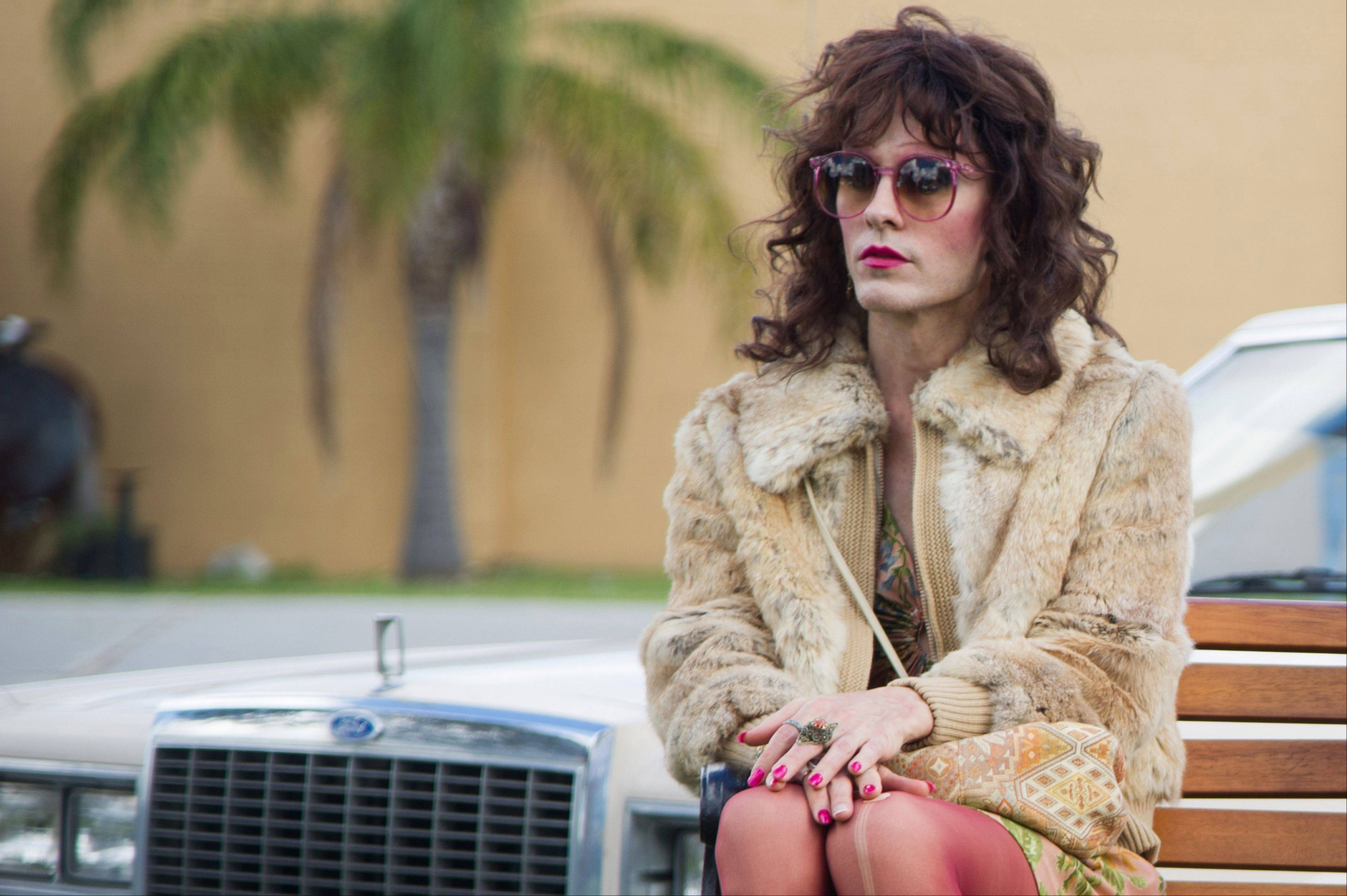 "Jared Leto plays Rayon in a scene from ""Dallas Buyers Club."" ""Blue Jasmine,"" ""Nebraska"" and ""American Hustle"" have been nominated for Writers Guild honors, continuing their imprint on Hollywood's awards season. The three comedies gained nods on Friday for exceptional screen writing."