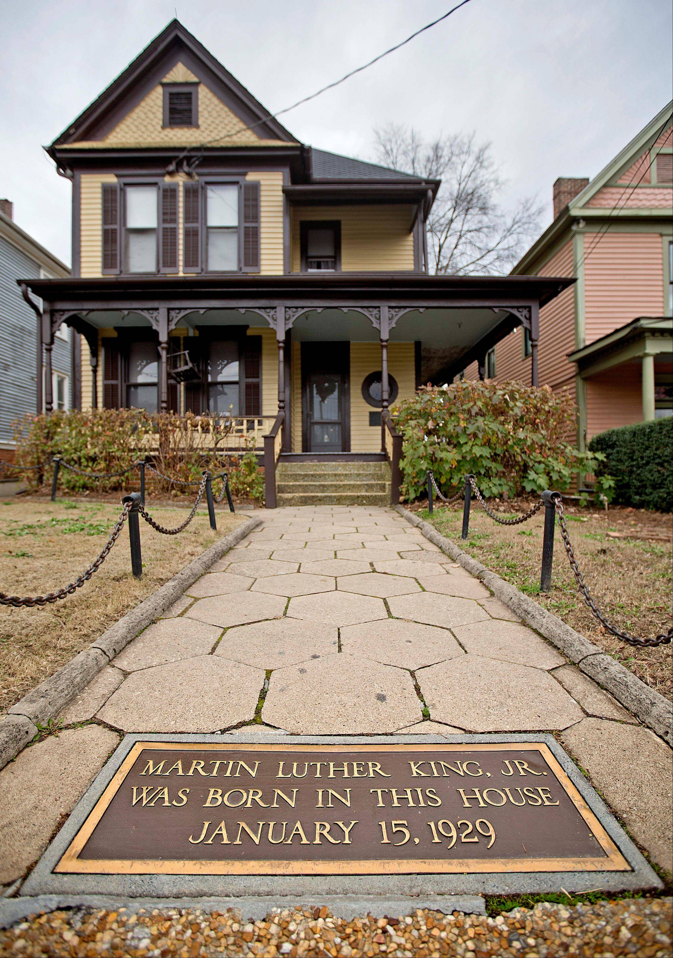 The Martin Luther King Jr. Historic Site, operated by the National Park Service, offers free tours of King's birth home in the Sweet Auburn historic district in Atlanta.