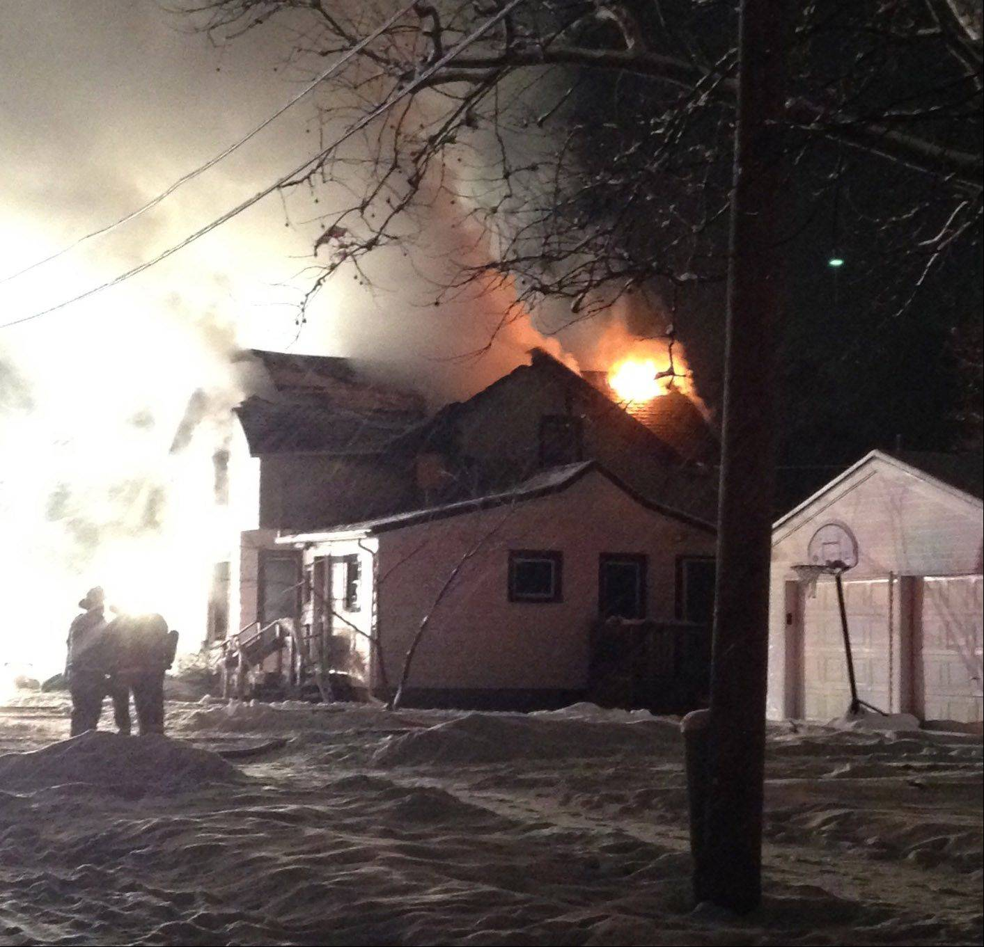A New Year�s Eve fire in Carpentersville left a family of five homeless. While the cause remains under investigation, the Carpentersville Fire Department, a local church and charity are working to get the family back on their feet by holding a donation drive.