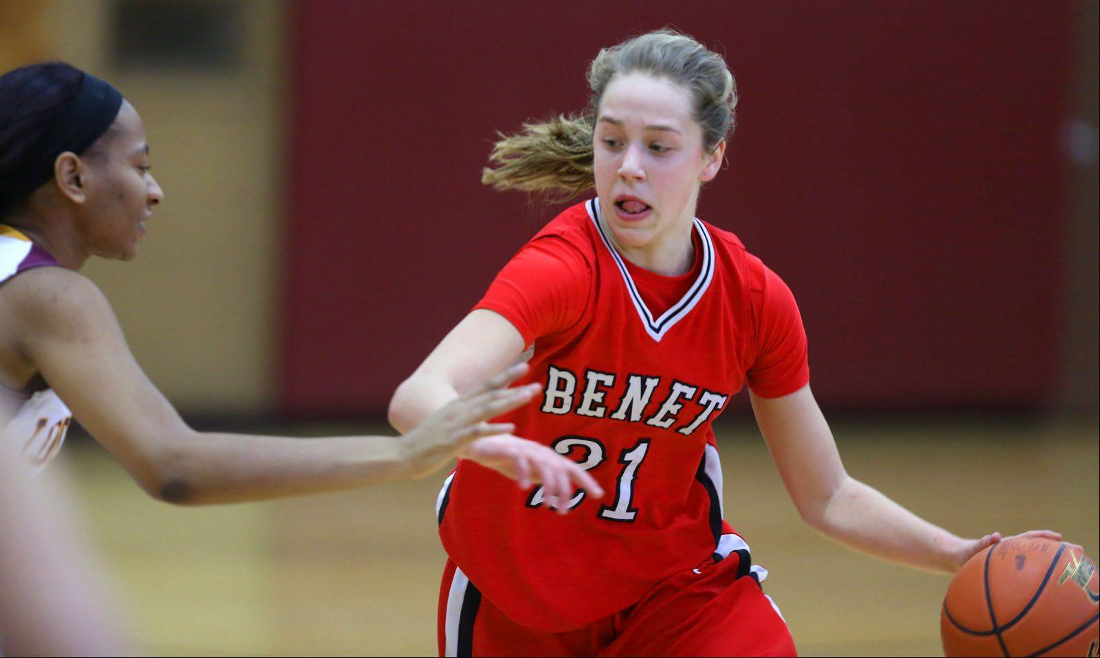 Images from the Benet vs. Lockport girls basketball game on Saturday, Jan. 4, 2014.
