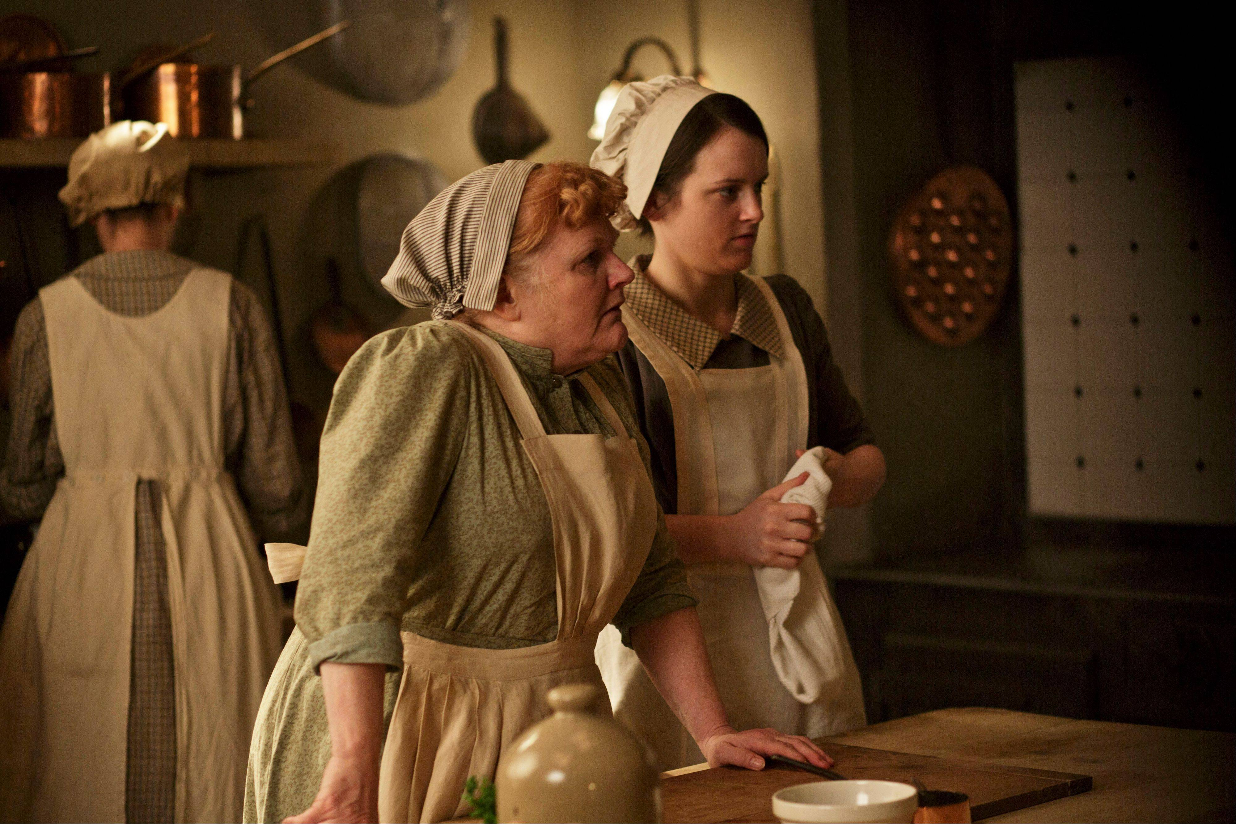 The newest threat to the culinary status quo, over which Mrs. Patmore (Lesley Nicol), with Daisy (Sophie McShera), reigns in the kitchen may just be the electric mixer.