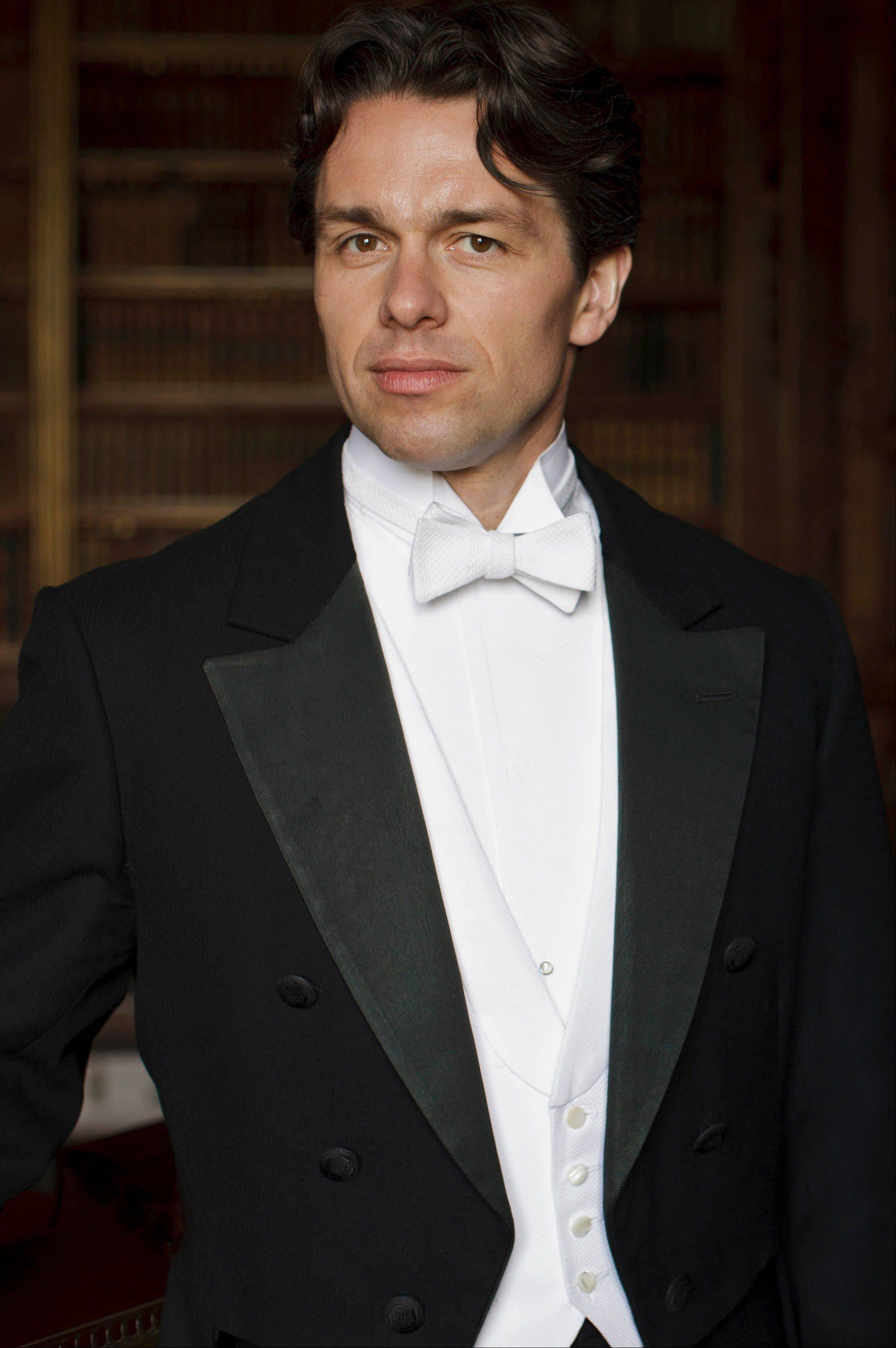 "Charles Blake (Julian Ovenden) is just one newcomer in season four of ""Downton Abbey."""