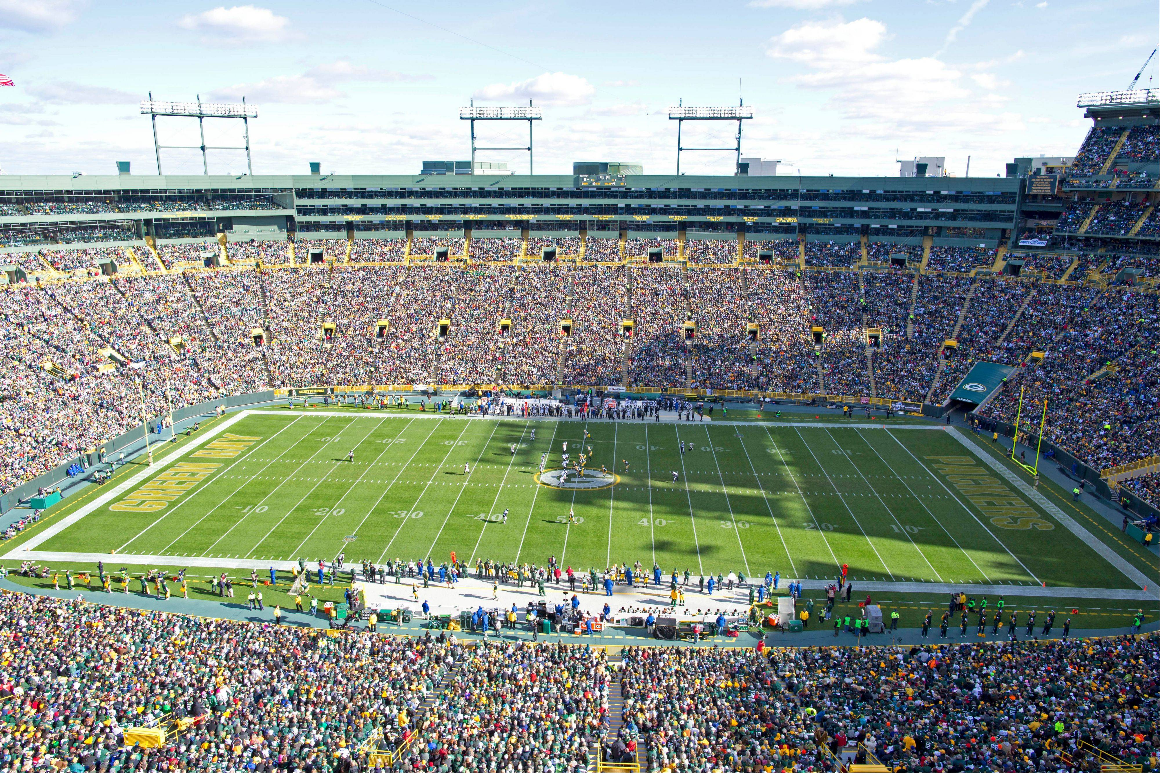 a tour of lambeau field offers a peek behind the curtain where so much of professional