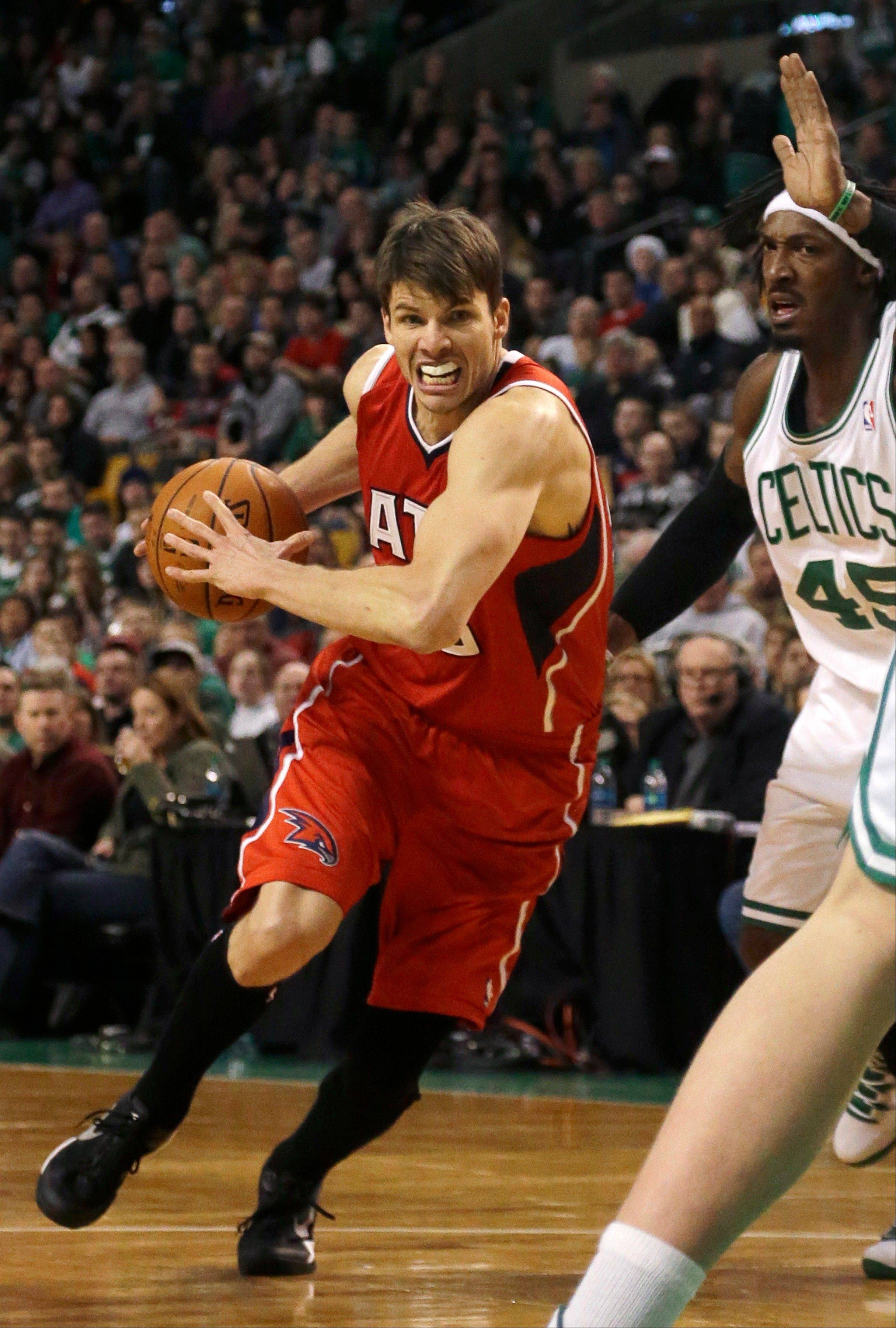 Atlanta Hawks guard Kyle Korver has the NBA record for consecutive games with a made 3-pointer, which now sits at 103 and counting.