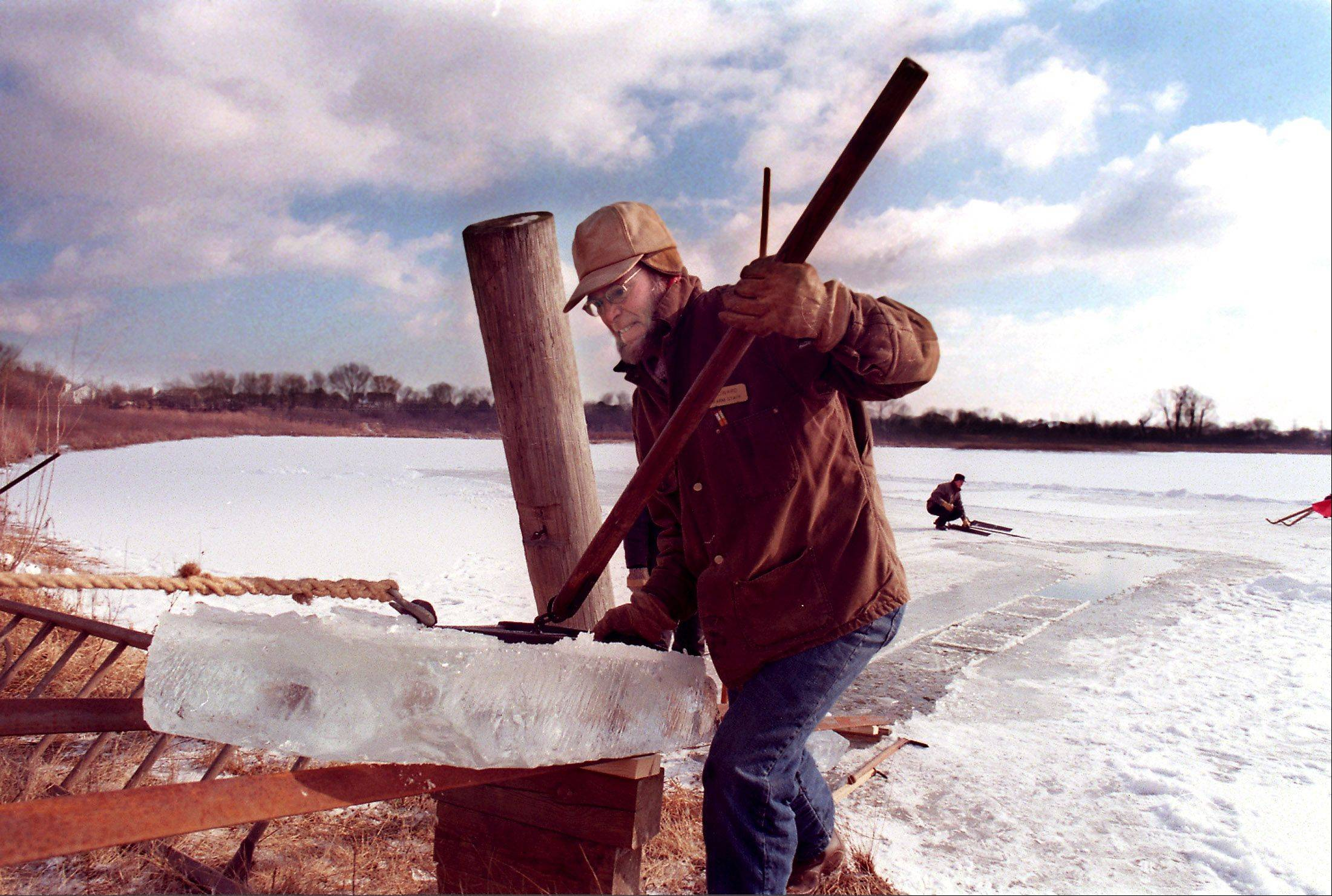 Visitors can see what it was like to harvest ice in the 1890s during a series of demonstrations later this month at Kline Creek Farm in West Chicago.