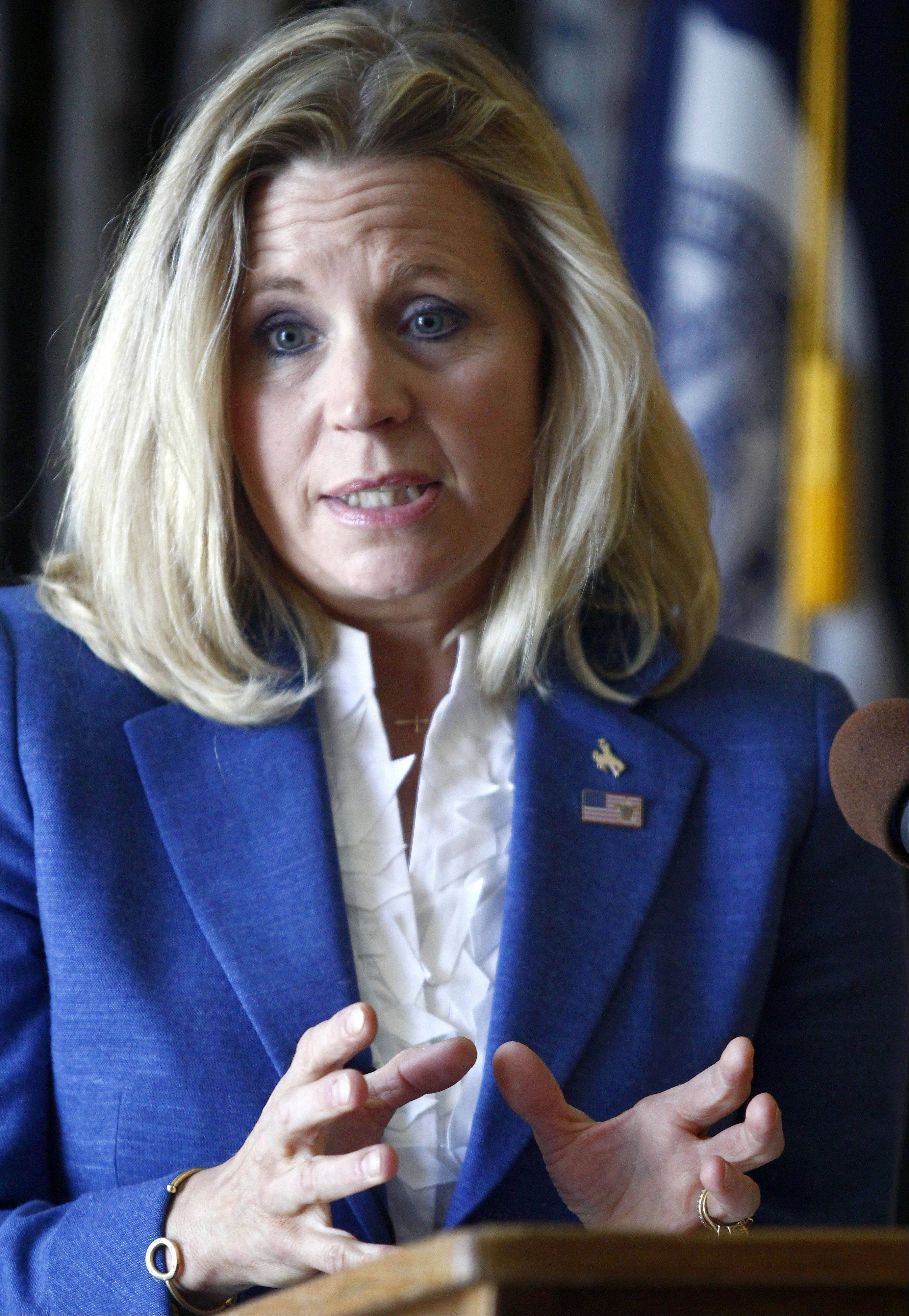Liz Cheney, daughter of former Vice President Dick Cheney, is quitting the Wyoming's Republican Senate primary, abandoning her effort to unseat incumbent Sen. Mike Enzi.