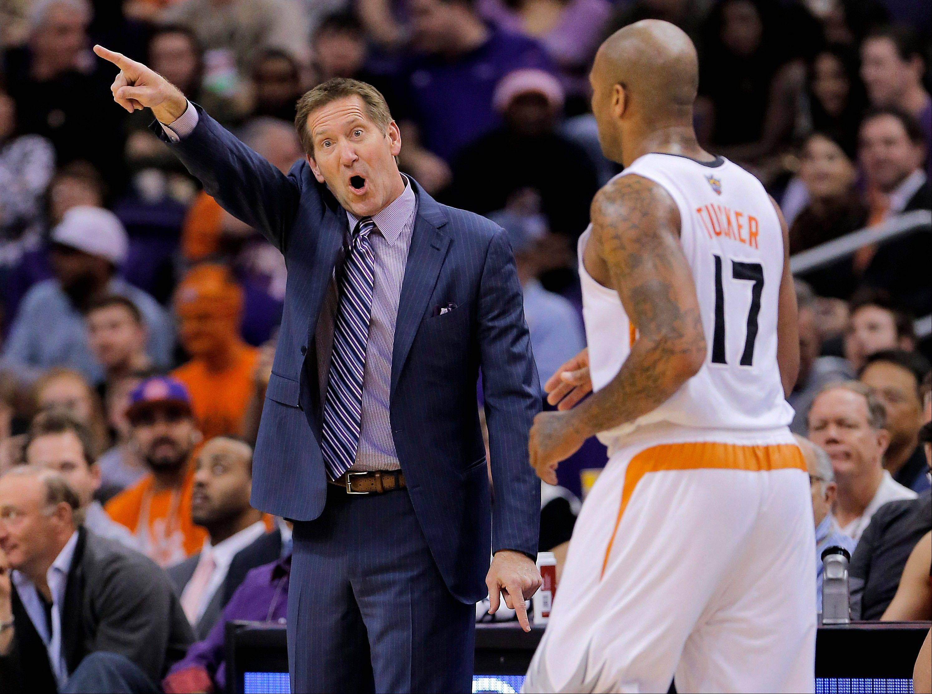 Jeff Hornacek has his Phoenix Suns rolling at 20-12 in his first season as an NBA head coach. Hornacek's Suns face the Bulls on Tuesday night at the United Center.