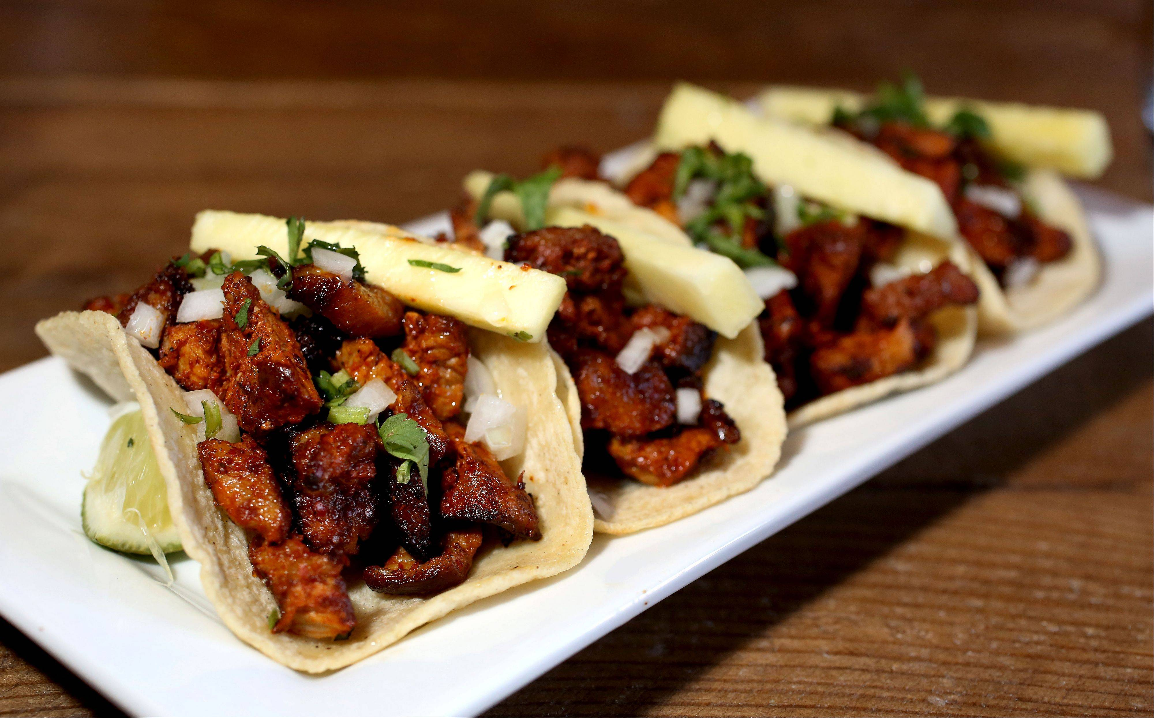 Tacos, like the Barbakoa Carne Asada Tacos, are a sure bet at Barbakoa in Downers Grove.