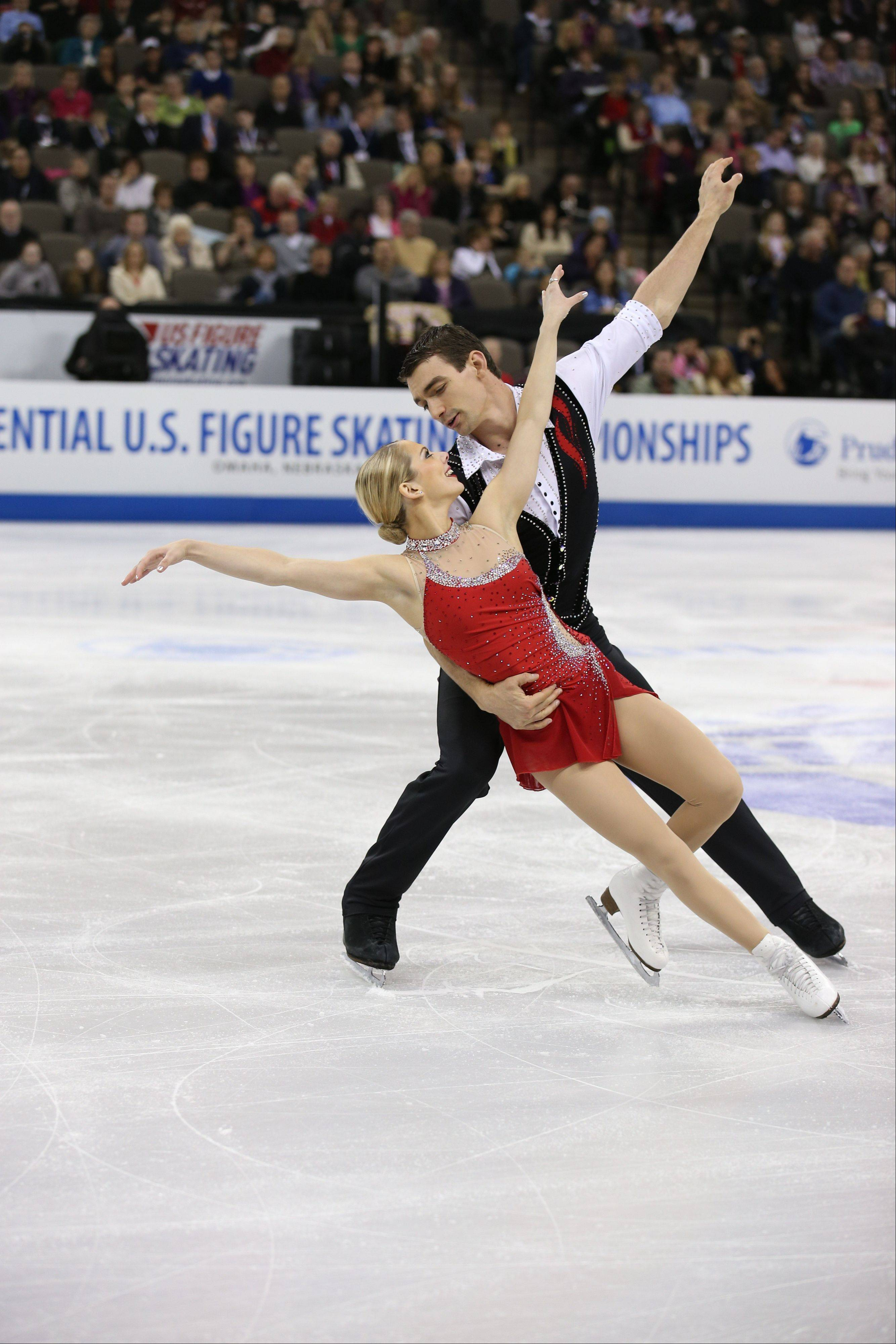 Addison native Alexa Scimeca and her pairs figure skating partner, Chris Knierim, say they plan to keep skating through the 2018 Olympics. They'll compete this weekend for a spot in the 2014 games in Sochi, Russia.