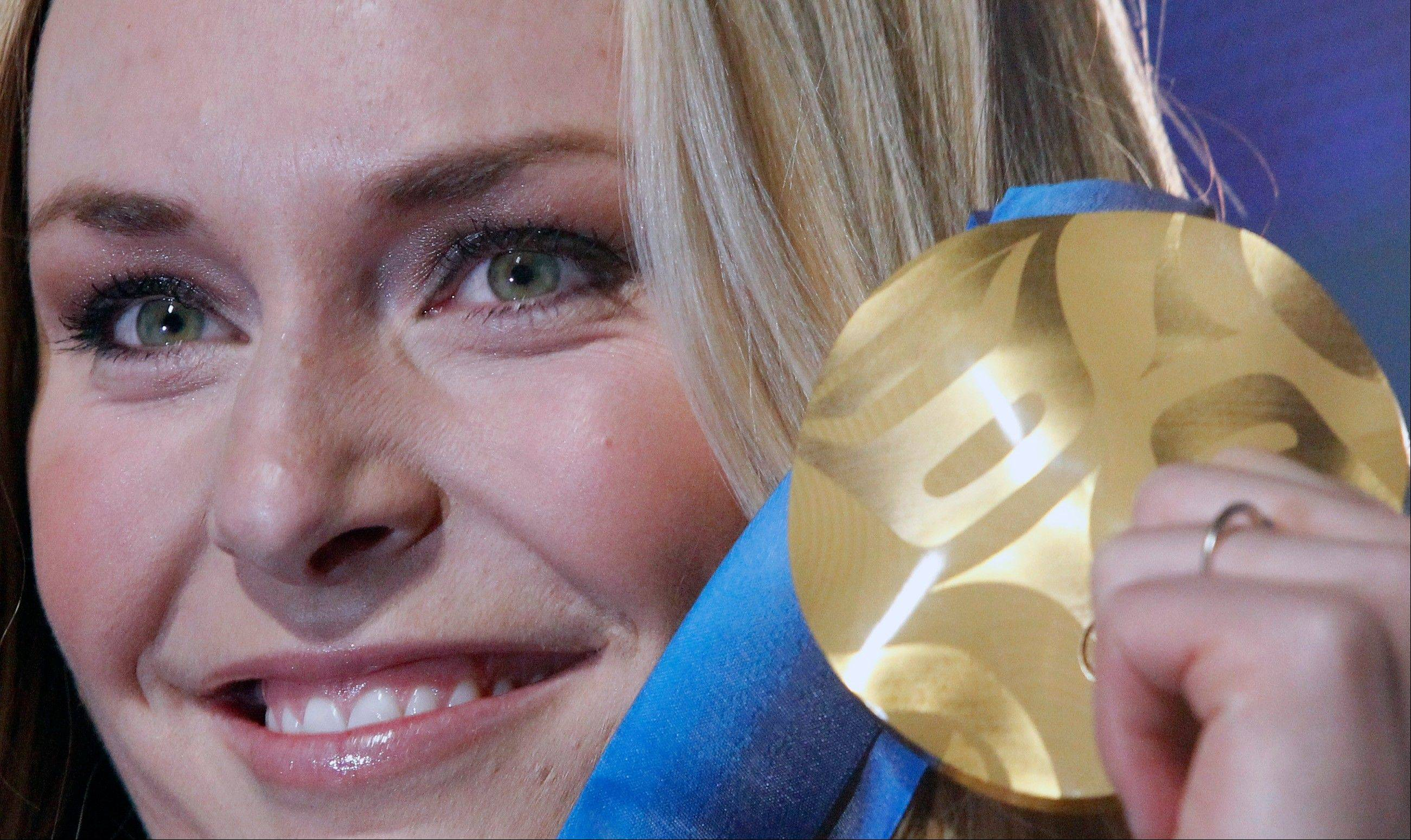 Lindsey Vonn will miss the Sochi Olympics because of a right knee injury, leaving the Winter Games without one of its biggest stars. The 29-year-old American won two medals at the 2010 Vancouver Olympics, including a gold in the downhill. She is also a four-time overall World Cup champion and the biggest name in Alpine skiing.