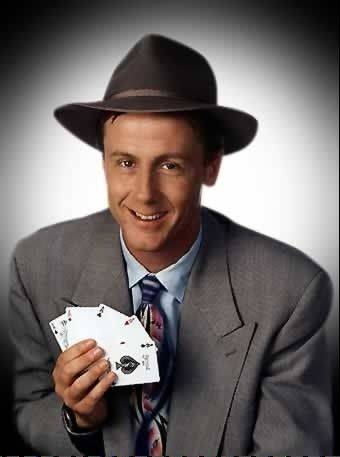Harry Anderson appears at the Zanies Comedy Club at MB Financial Park in Rosemont.