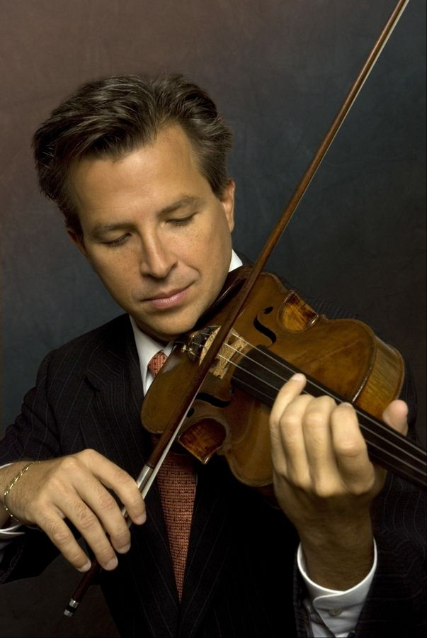 Violinist Michael Ludwig appears with the Elgin Symphony Orchestra.