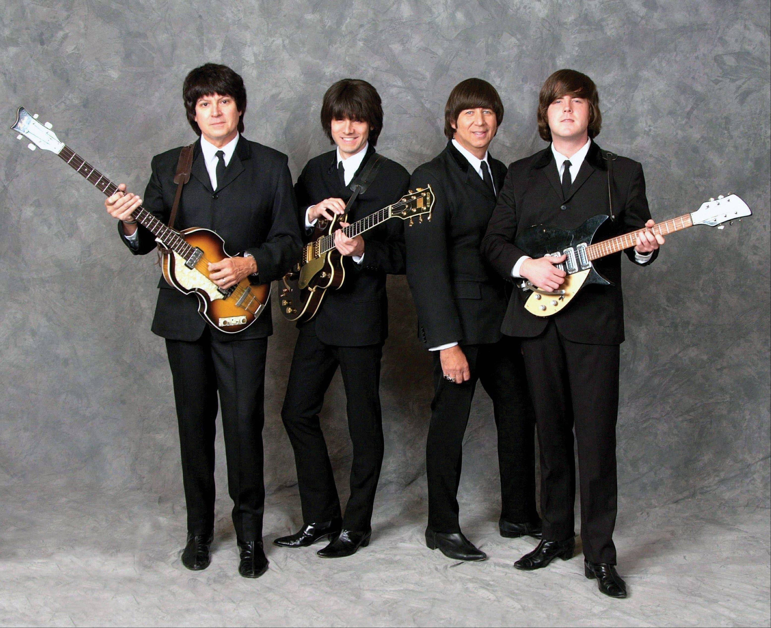 Beatles tribute band American English will perform at Pheasant Run Resort in St. Charles.