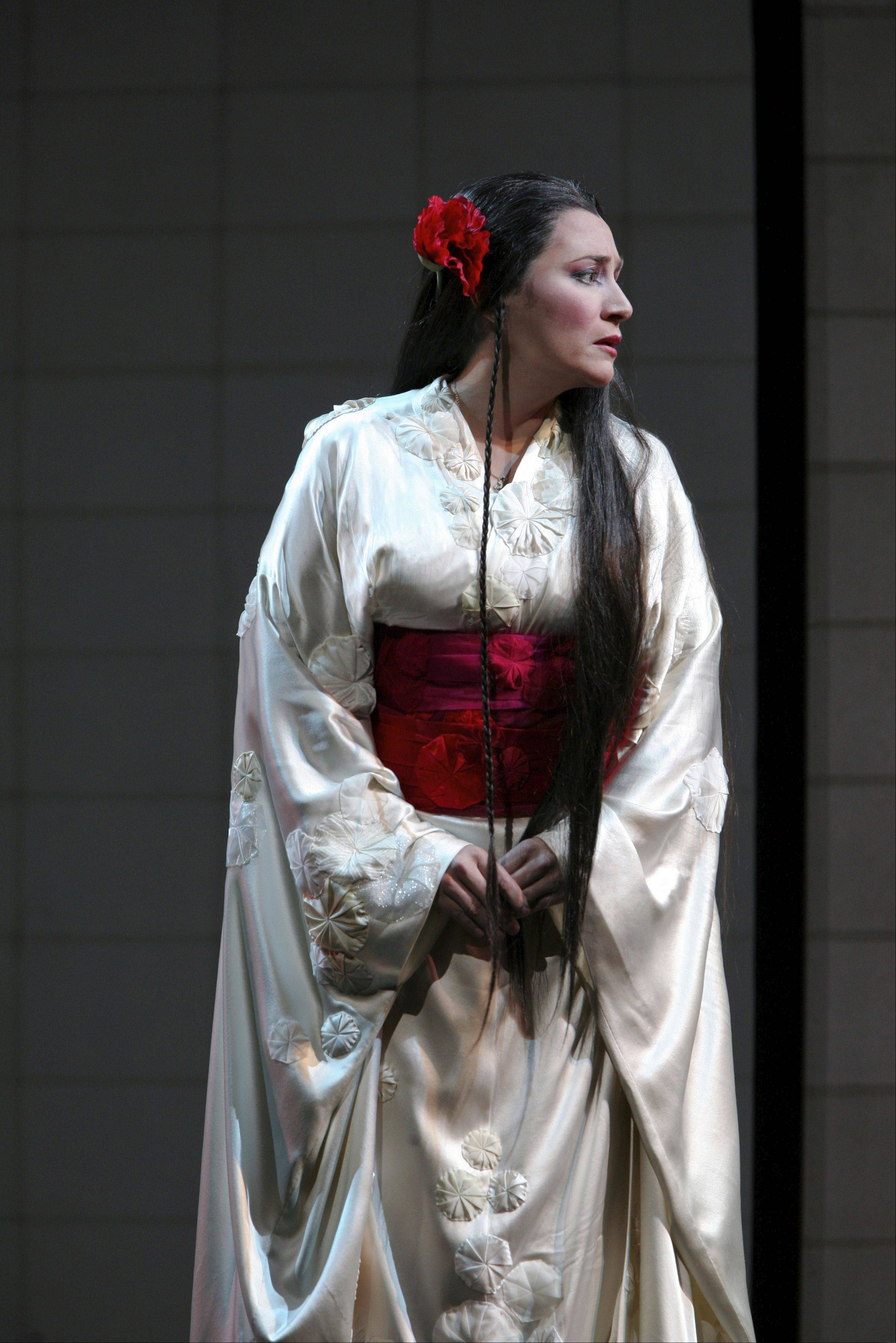 "Soprano Patricia Racette returns to the Lyric Opera of Chicago to star in the title role of ""Madama Butterfly."""