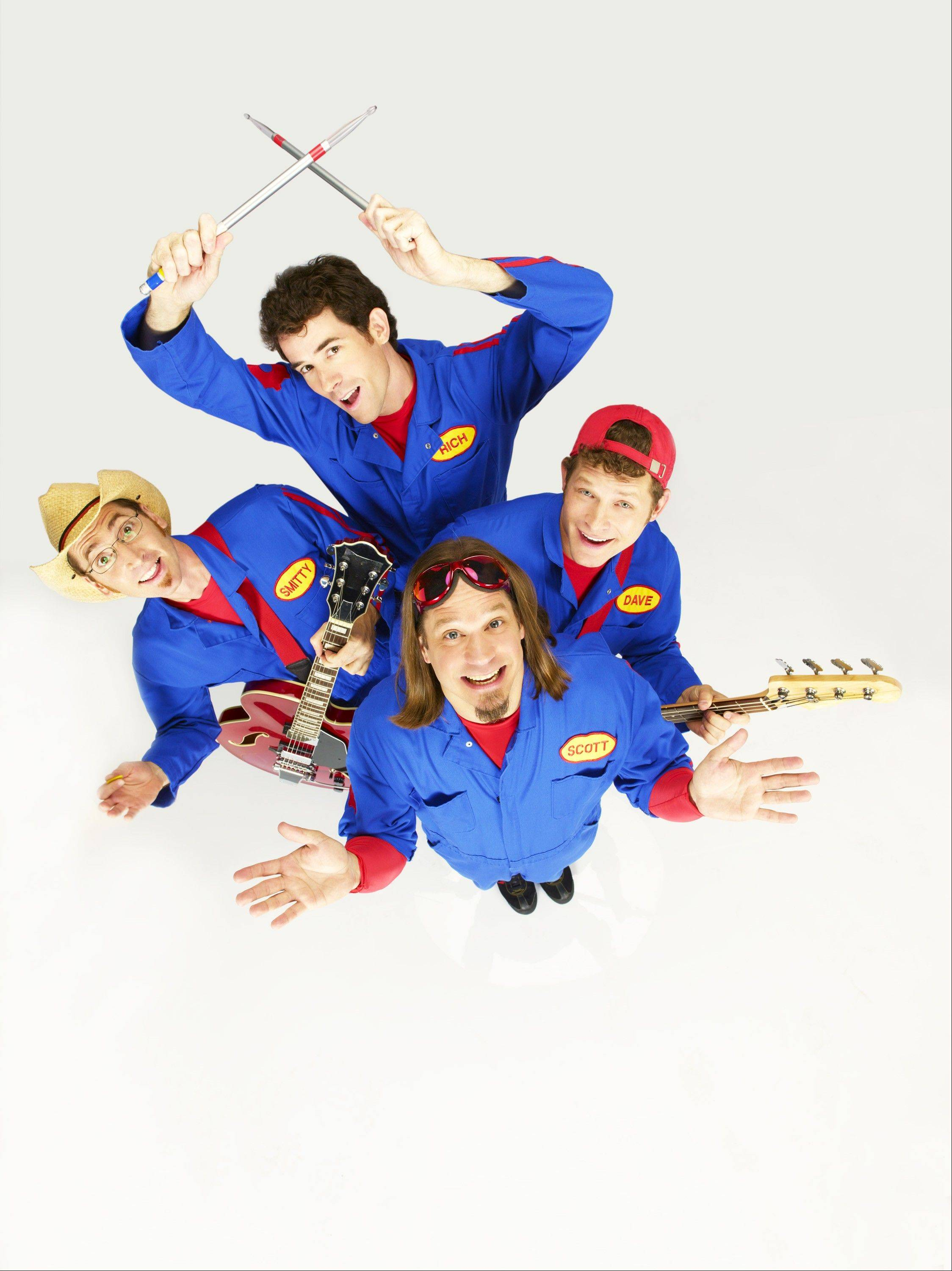 The Imagination Movers head for the Paramount Theatre in Aurora on Sunday, May 18.
