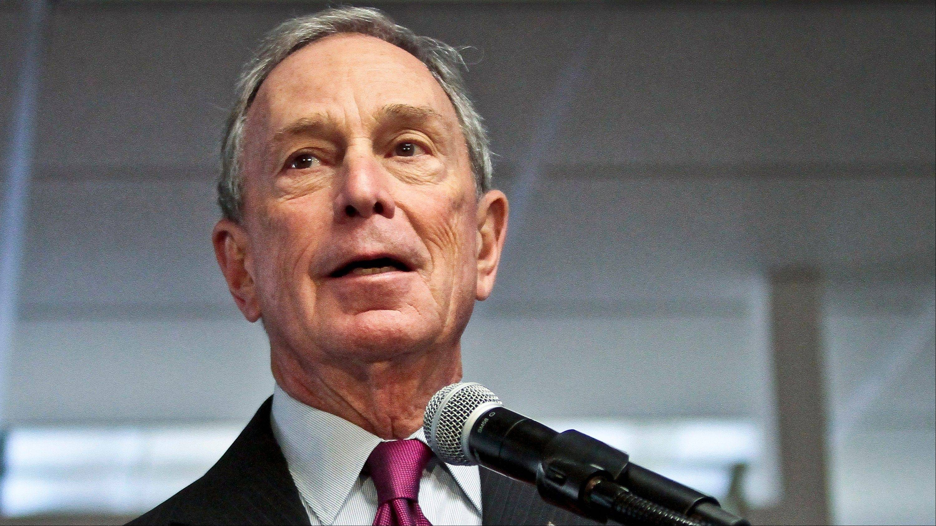 Billionaire former New York Mayor Michael Bloomberg has given $2.5 million to help Democrats defend their majority in the Senate.