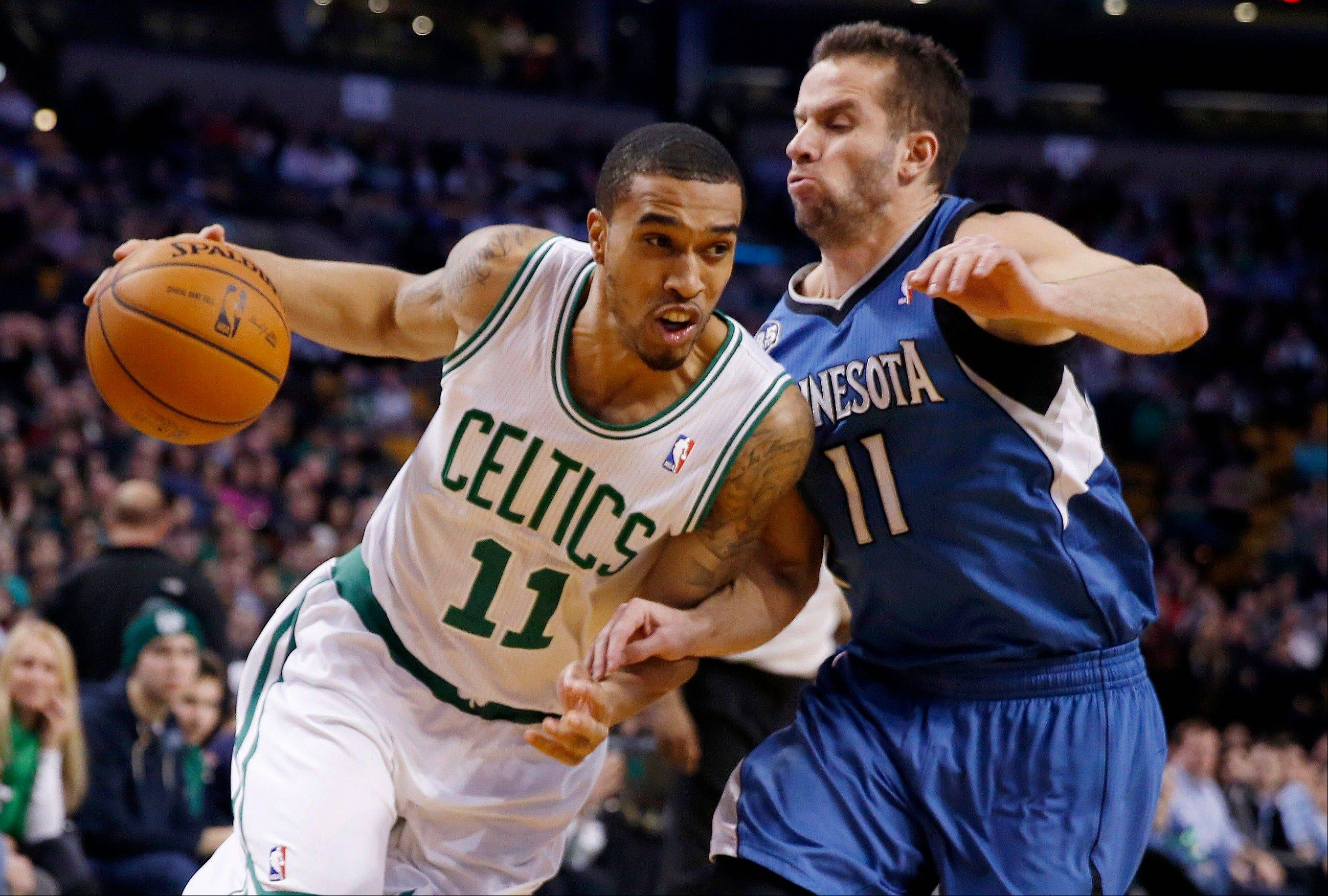 Former Boston guard Courtney Lee (11) is now a member of the Memphis Grizzlies.