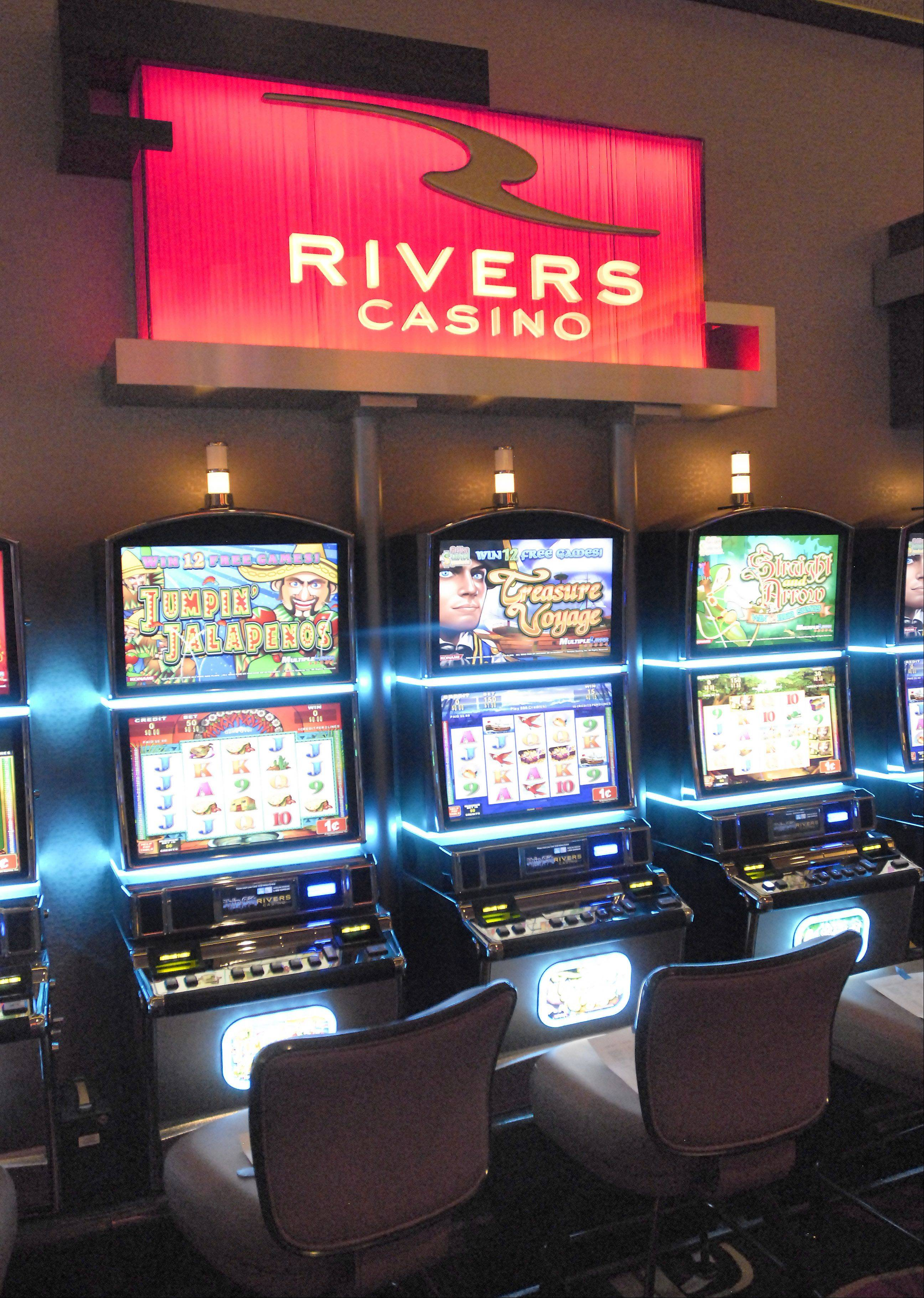The Rivers Casino has so far avoided revenue declines seen at other suburban gambling palaces.