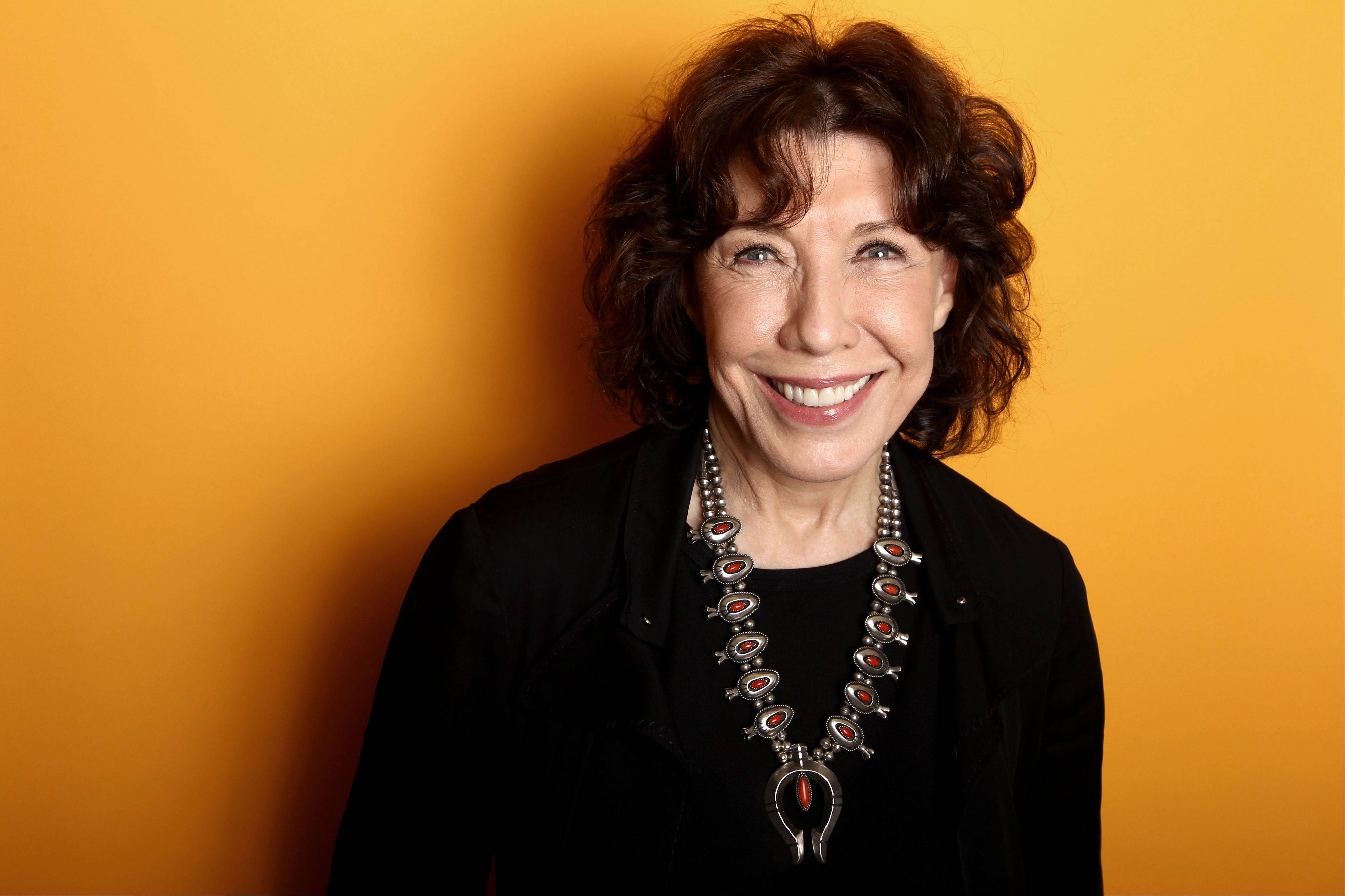Actress Lily Tomlin poses for a portrait at the Four Seasons Hotel, in Los Angeles. Tomlin's publicist Jennifer Allen told People Magazine and other media outlets Tuesday that the 74-year-old actress and comedian married 78-year-old Jane Wagner in a private New Year's Eve ceremony in Los Angeles.