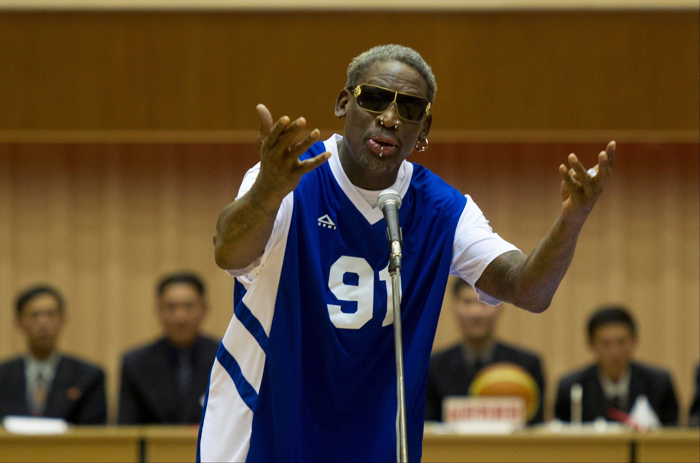 Rodman sings happy birthday to North Korean leader