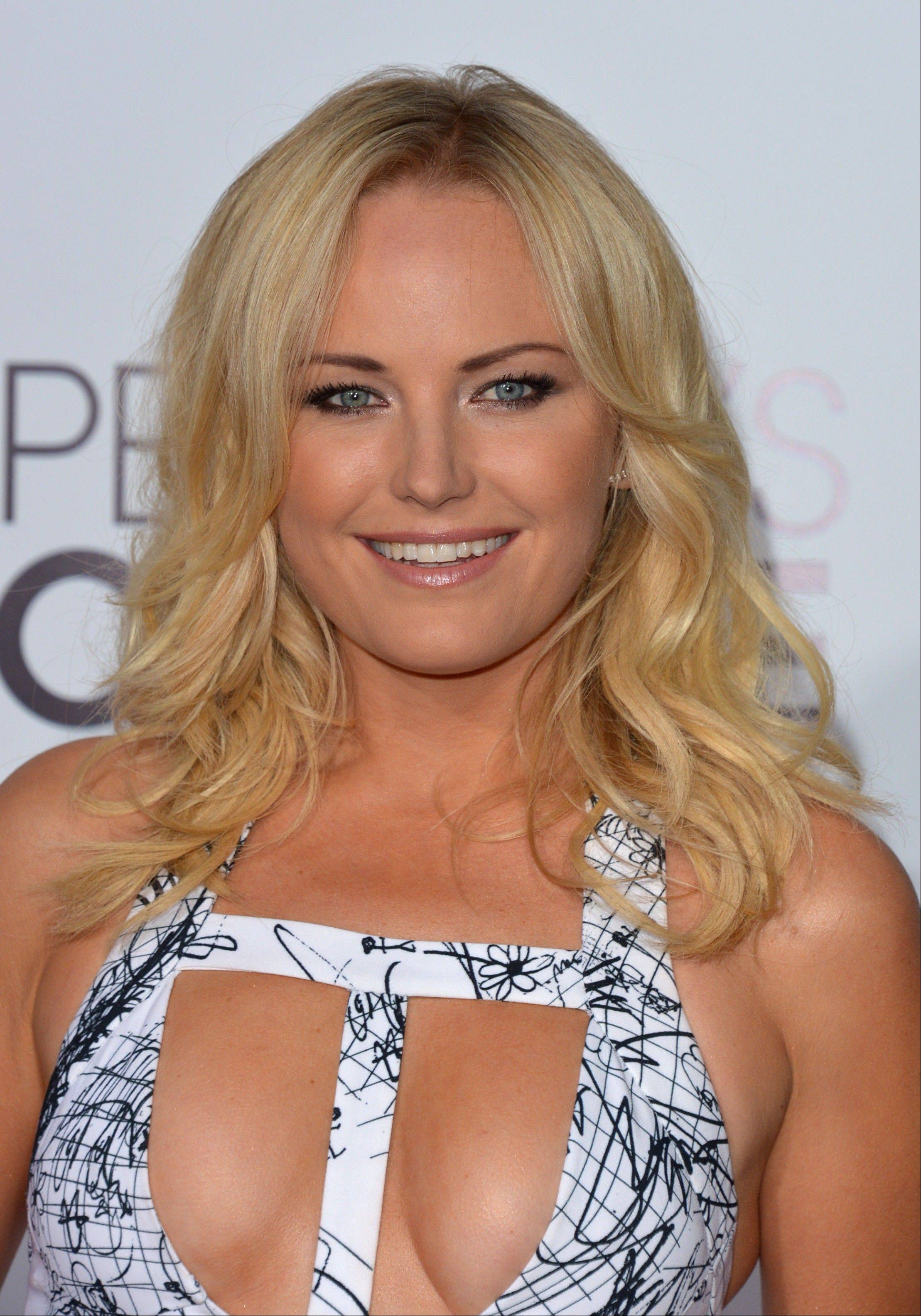 Associated PressMalin Akerman arrives at the 40th annual People's Choice Awards Wednesday in Los Angeles.