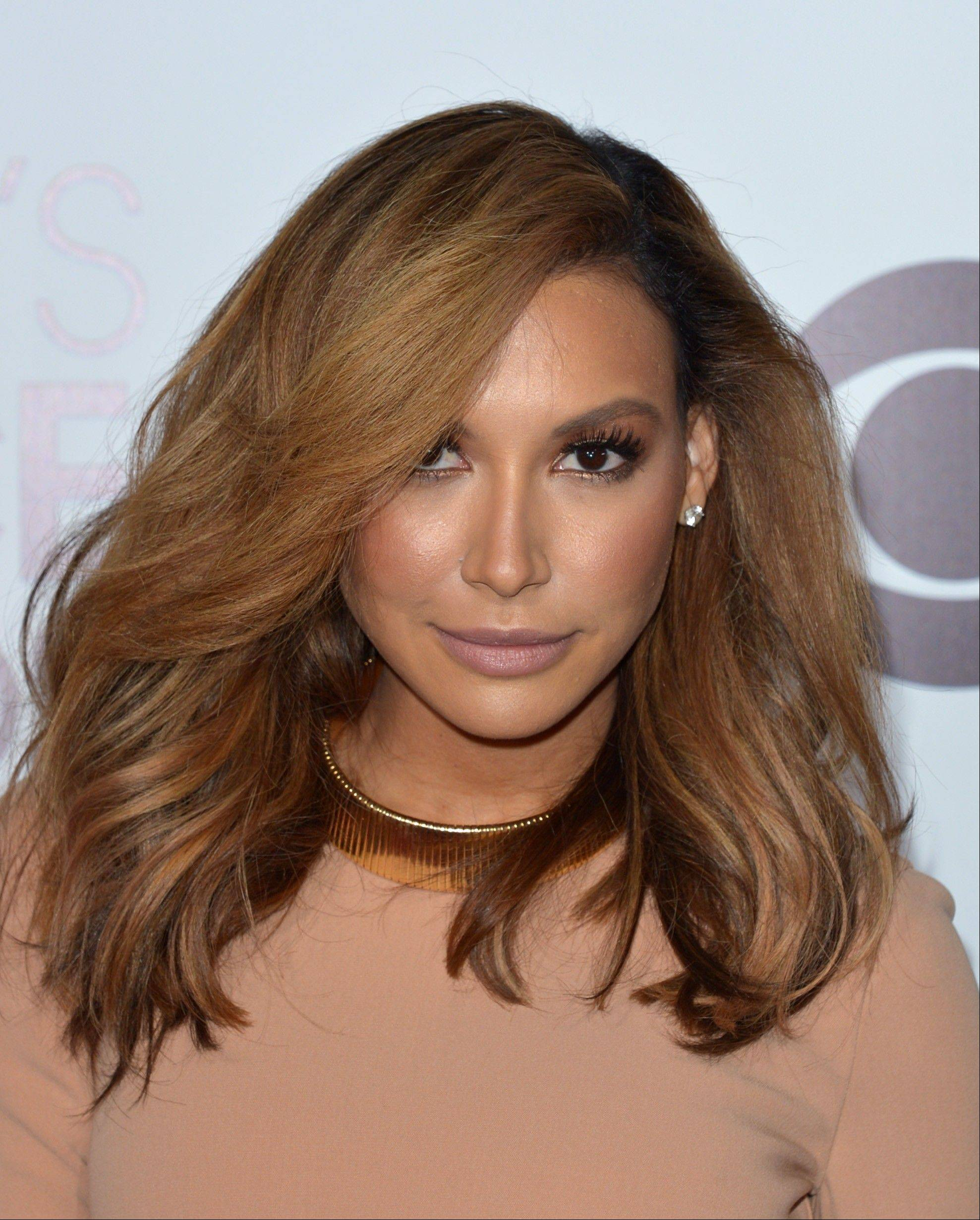 "Naya Rivera of ""Glee"" arrives at the 40th annual People's Choice Awards at Nokia Theatre L.A. Live."