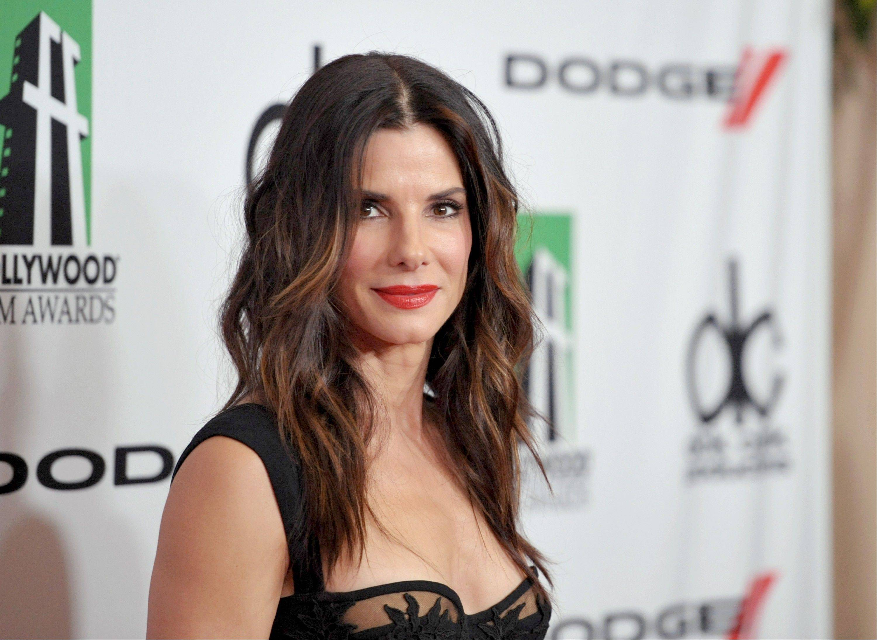 Sandra Bullock scored five nominations for the People's Choice Awards airing on CBS on Wednesday.