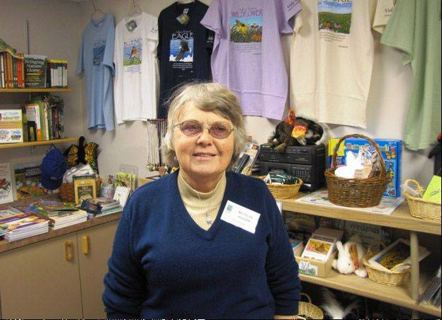 Volo Bog State Natural Area Volunteer of the Year Marilyn Huster.