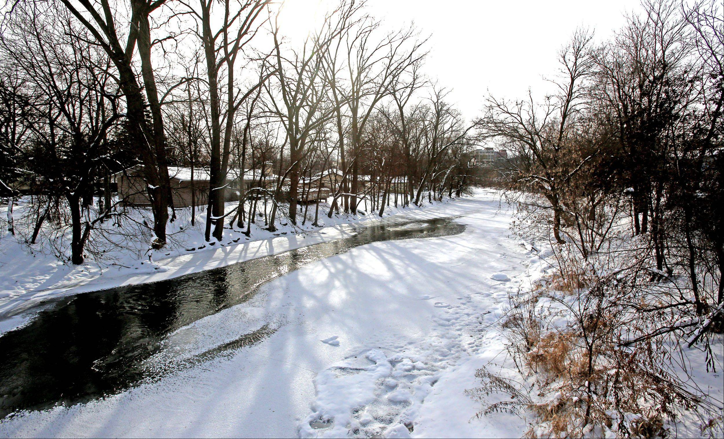 The Riverwalk in Naperville ends here at Hillside Road, but the city council soon will consider a boundary extension that could lengthen the 1.75-mile path south to Martin Avenue.