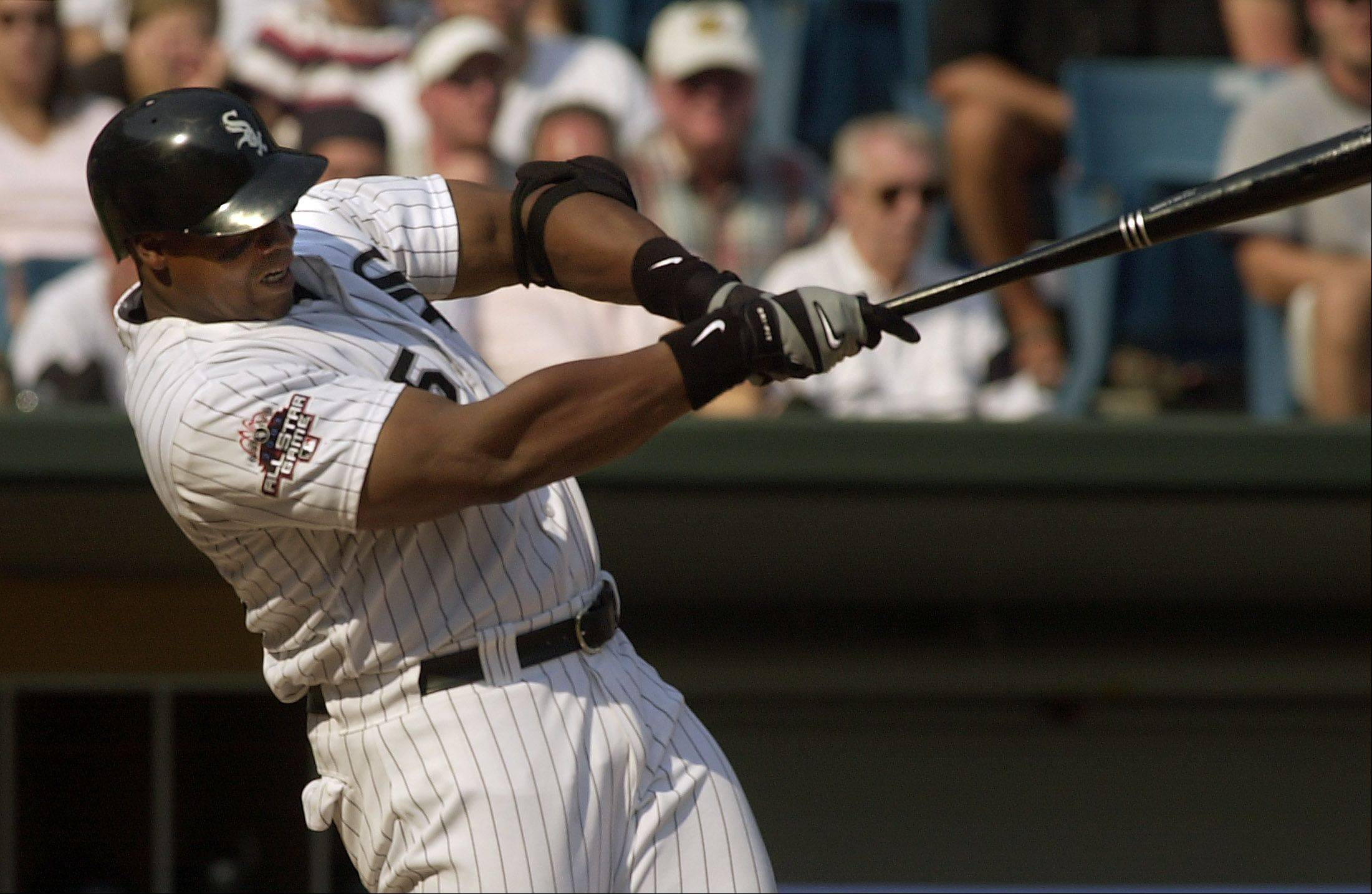 White Sox slugger Frank Thomas was elected to the National Baseball Hall of Fame on Wednesday after receiving 83.7 percent of the vote.