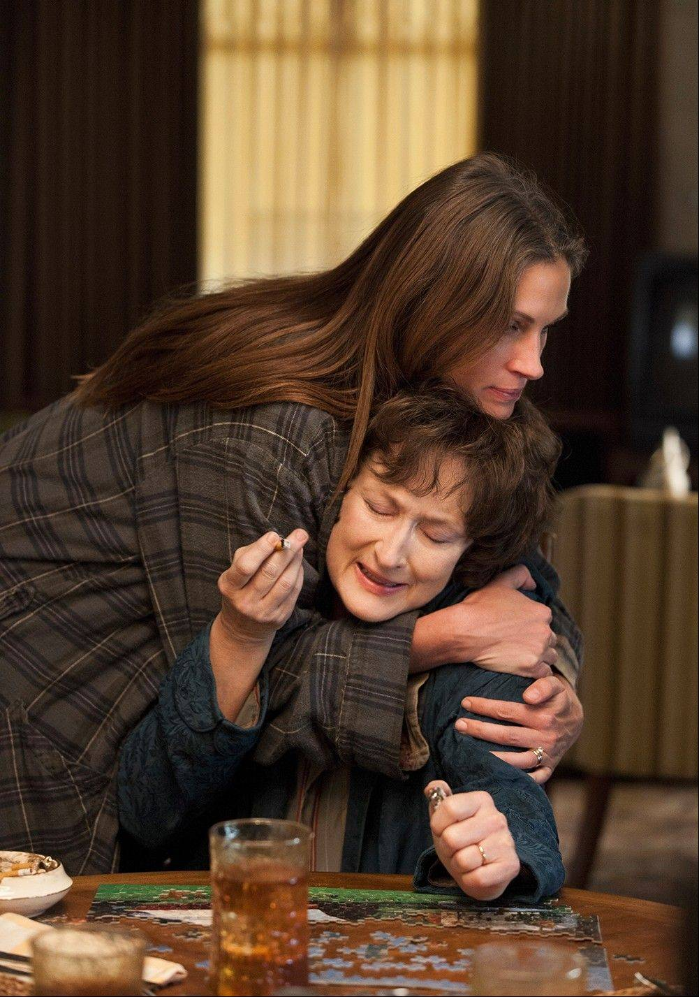 """August: Osage County"" starring Julia Roberts and Meryl Streep"