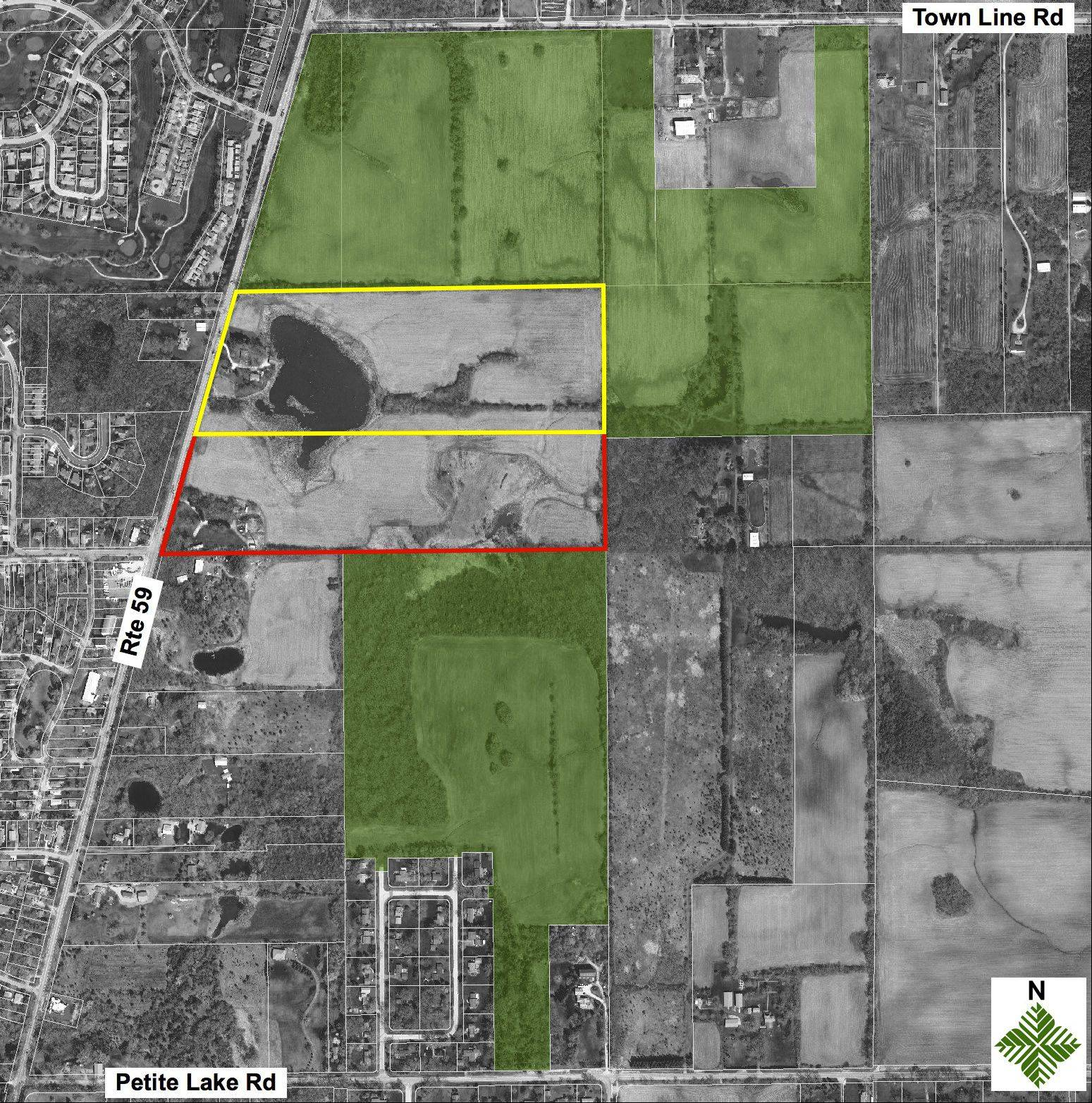 The Lake County Forest Preserve District expects to buy two parcels near Lake Villa that would connect the Bluebird Meadow Forest Preserve and provide a key future trail connection.