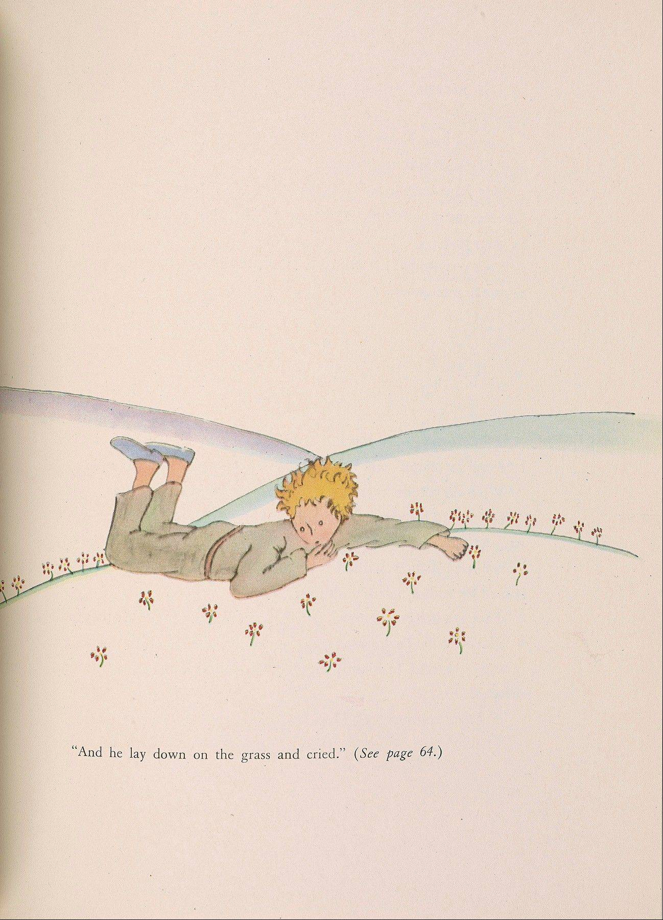 "A drawing from Antoine de Saint-Exupery's beloved children's tale ""The Little Prince"" is part of a major exhibition at the Morgan Library and Museum in New York on the 70th anniversary of the book's publication."
