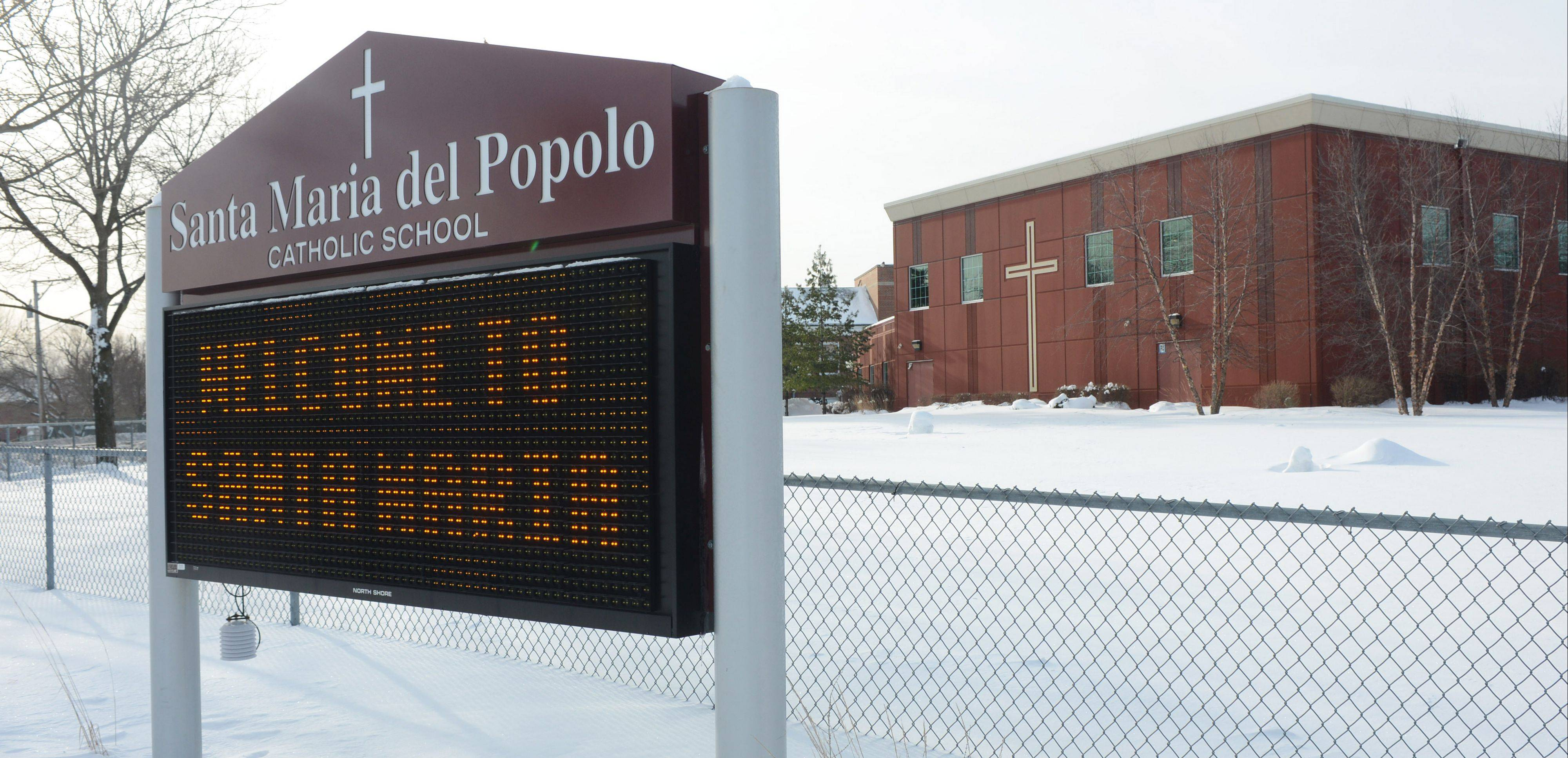 Archdiocese of Chicago officials have ordered the closure of Santa Maria del Popolo School in Mundelein when the academic season ends in June.