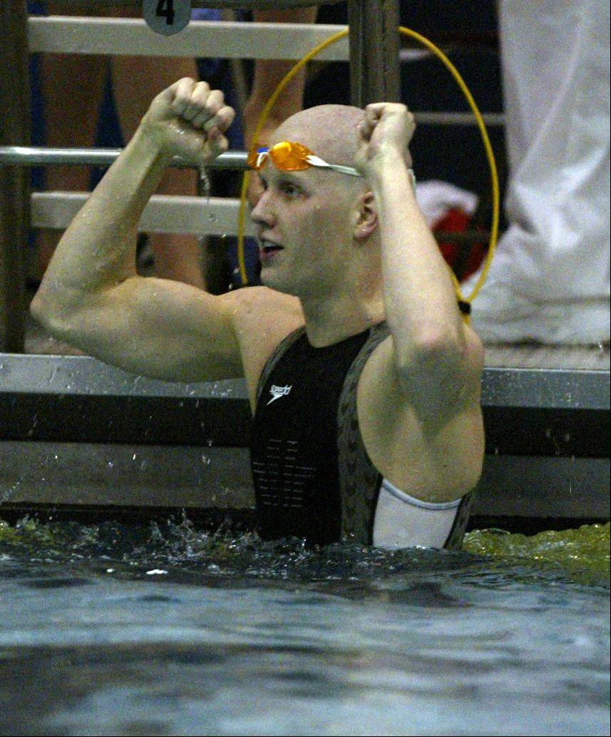 It's been more than 10 years since a Mid-Suburban League boys swimming team cracked the top 10 in the state meet standings. Palatine came close in 2005, finishing 11th as current Pirates coach Kyle Sorensen won the 50 and 100 freestyles.