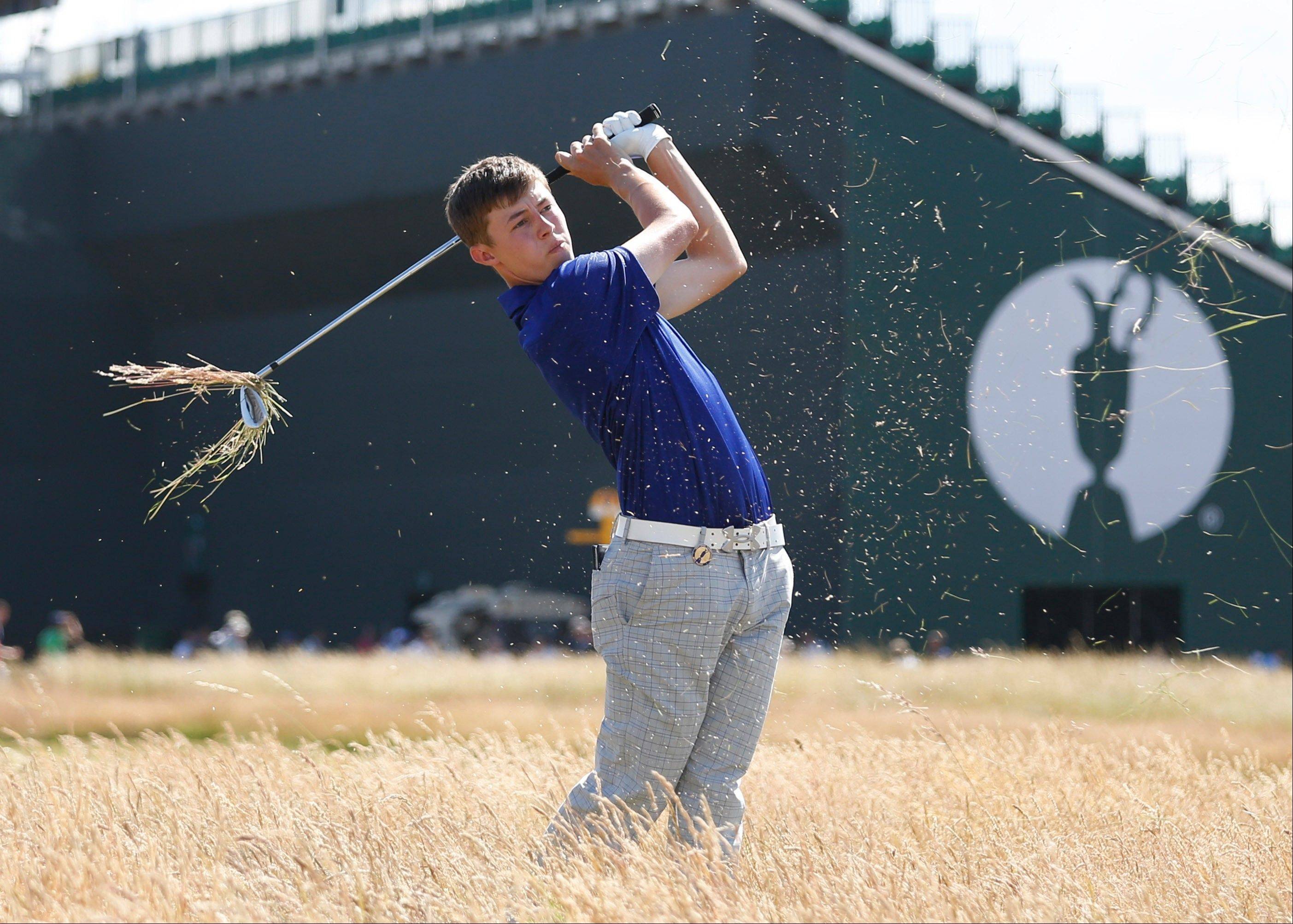 U.S. Amateur champion Matthew Fitzpatrick has decided to leave Northwestern University and return to England to focus on his golf game.