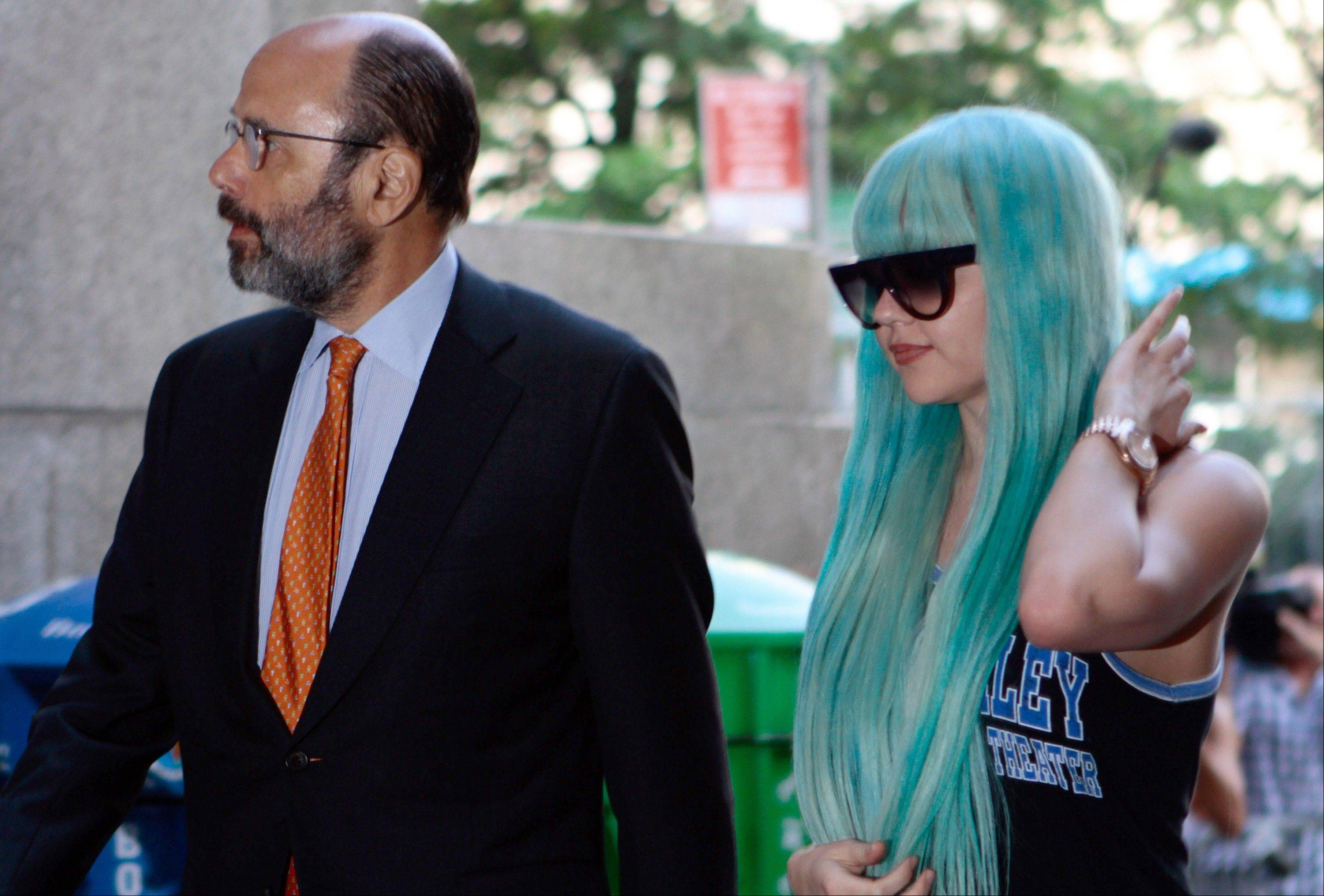 A Manhattan judge on Friday ruled that the bong-toss case against Amanda Bynes will be dismissed if she stays out of trouble for six months and goes to counseling.