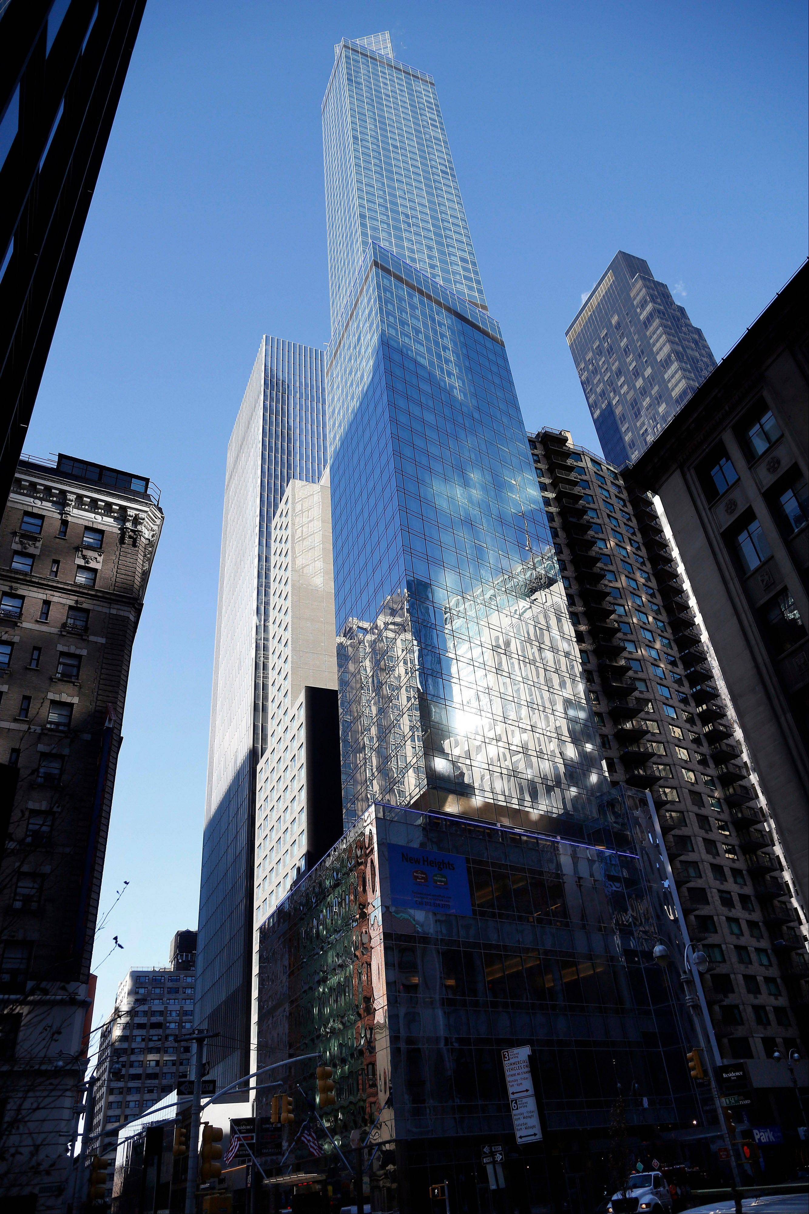 The new Courtyard-Residence Inn Central Park in New York is claiming to be the tallest single-use hotel building in North America.